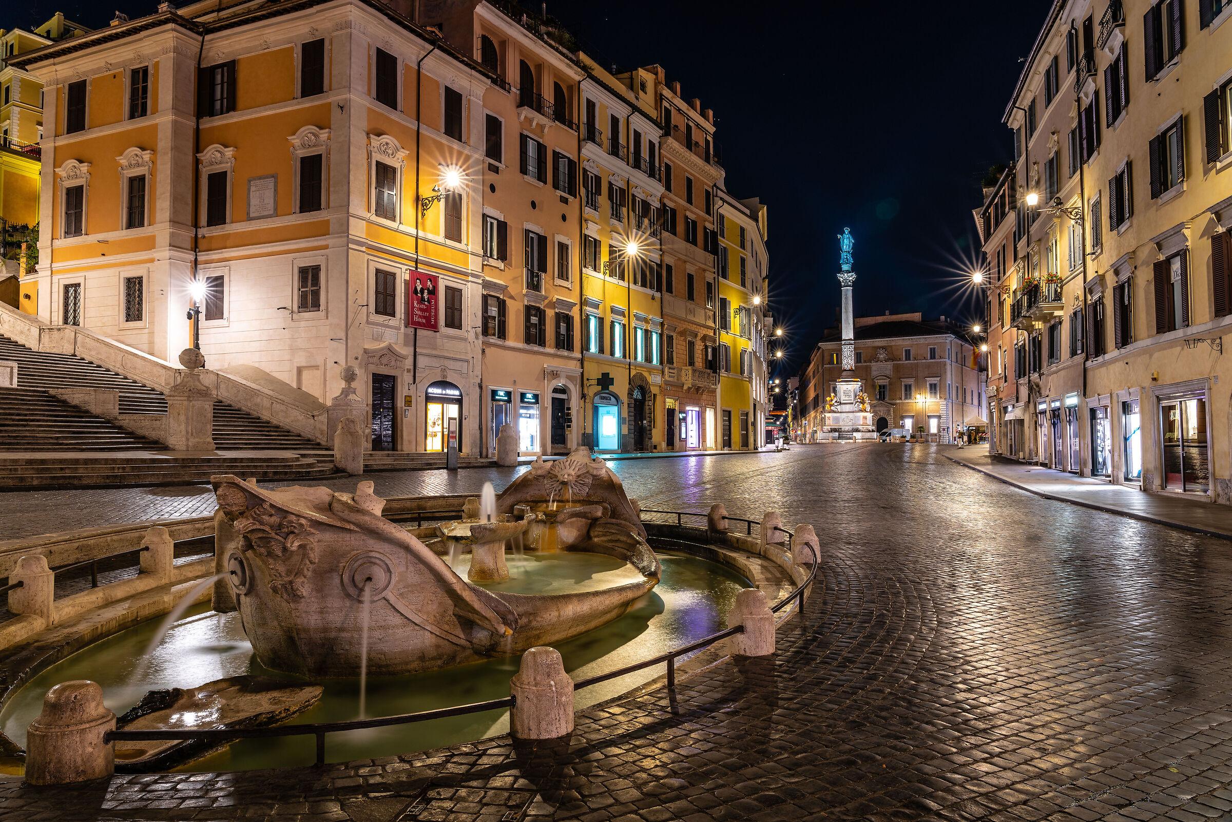 Piazza Di Spagna...