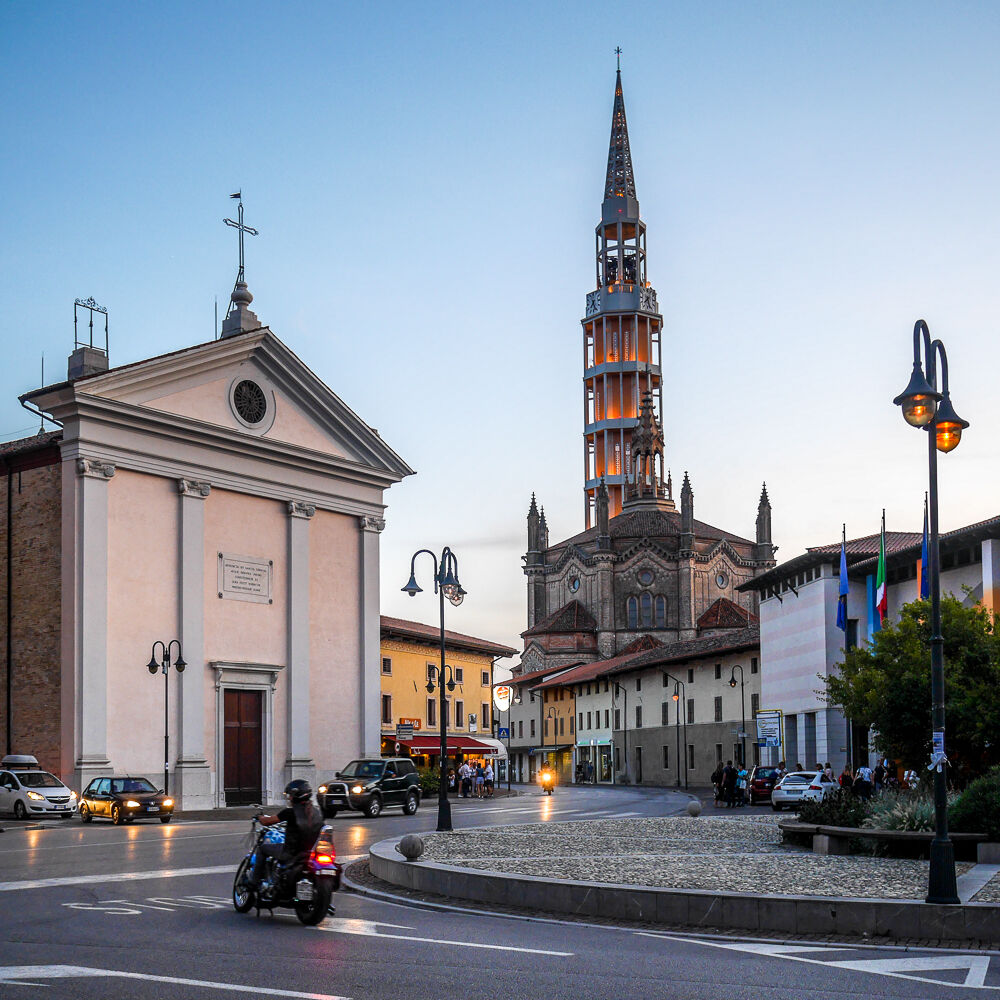 Mortegliano's bell tower (UD)...