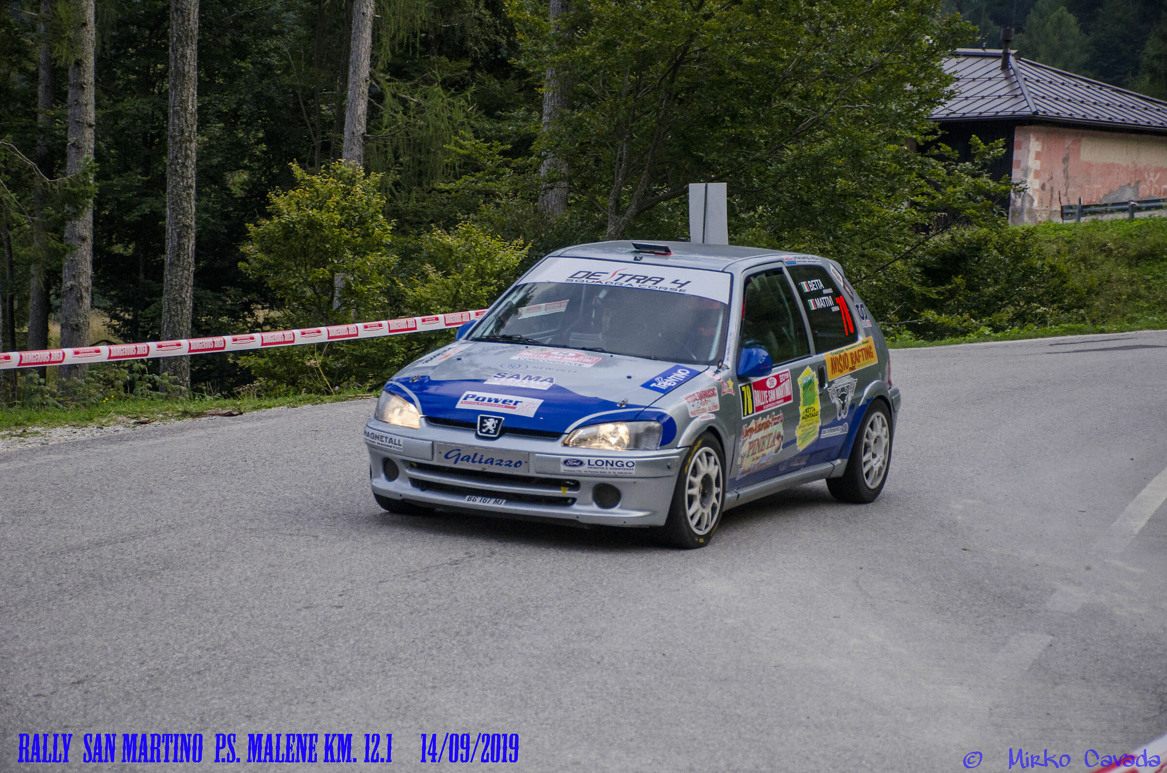Rally San Martino di Castrozza...