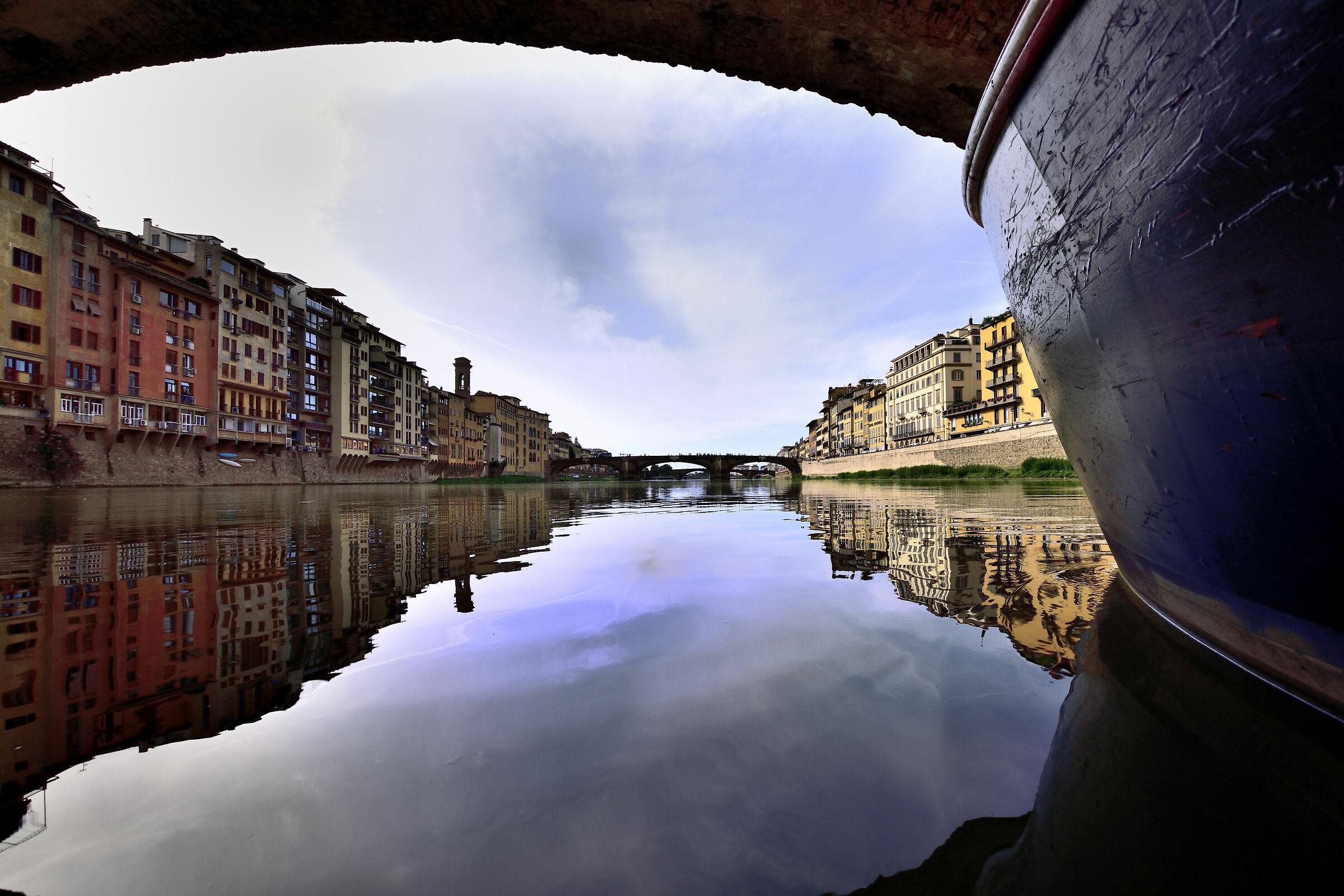 Under the Old Bridge...