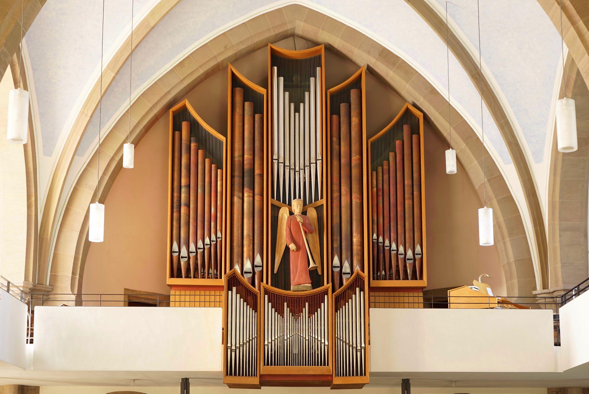 Fulda - Christuskirche - The Organ...