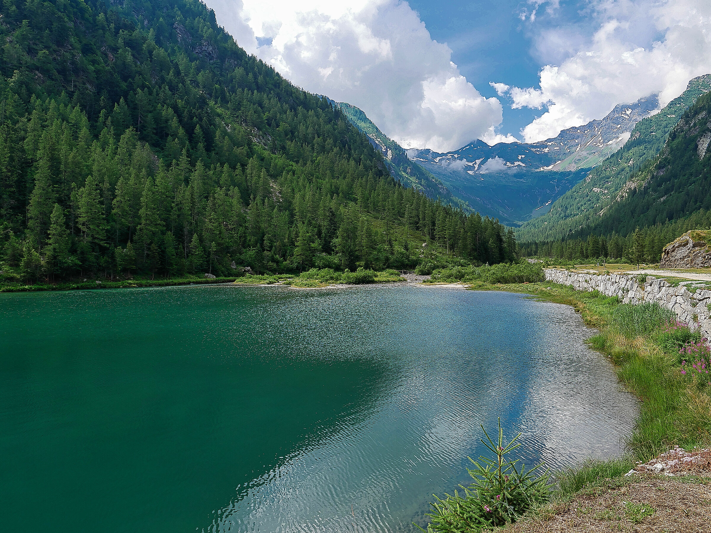 Lago delle streghe - Val Quarazza...
