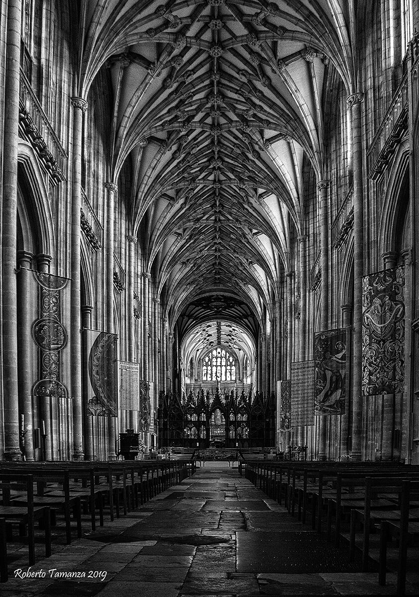 Winchester Cathedral...
