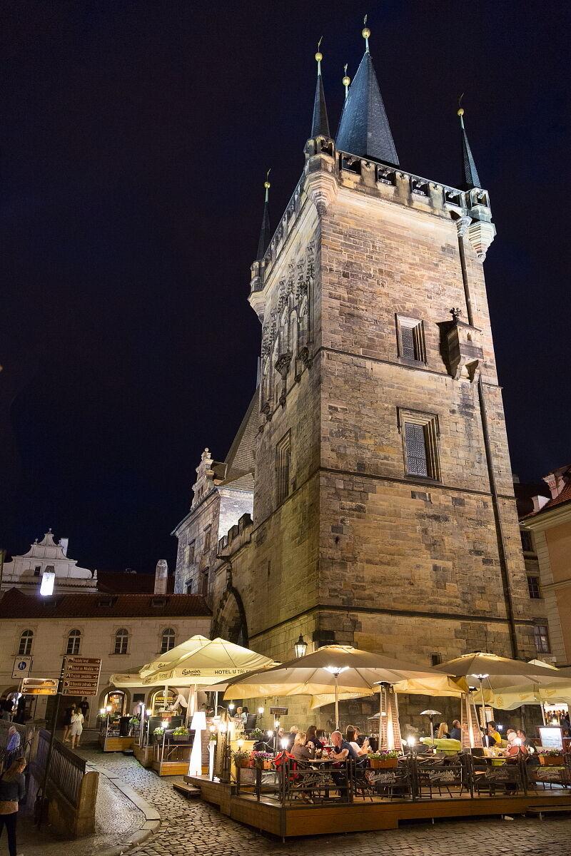 Prague in the evening...