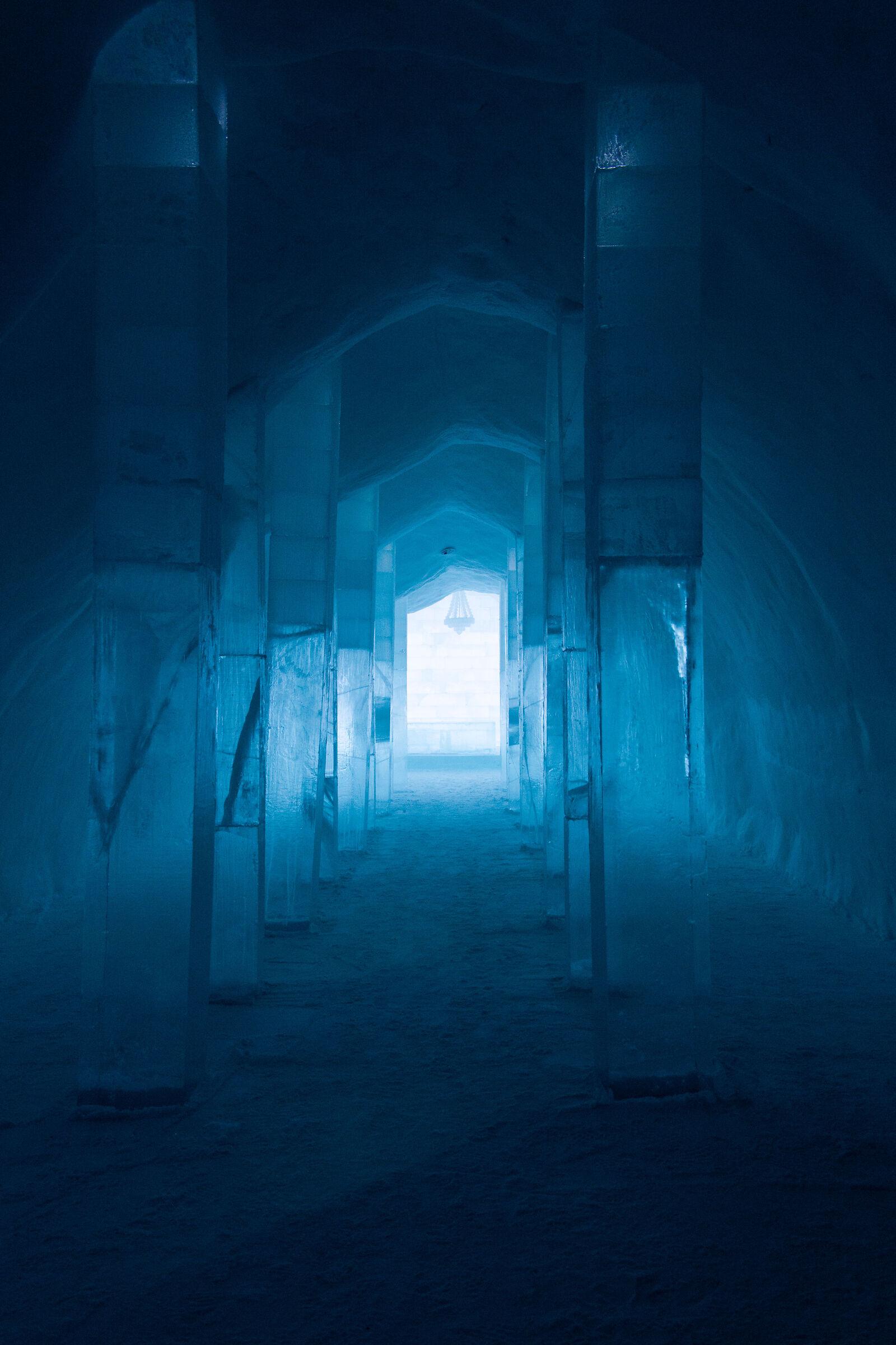 ice hotel...