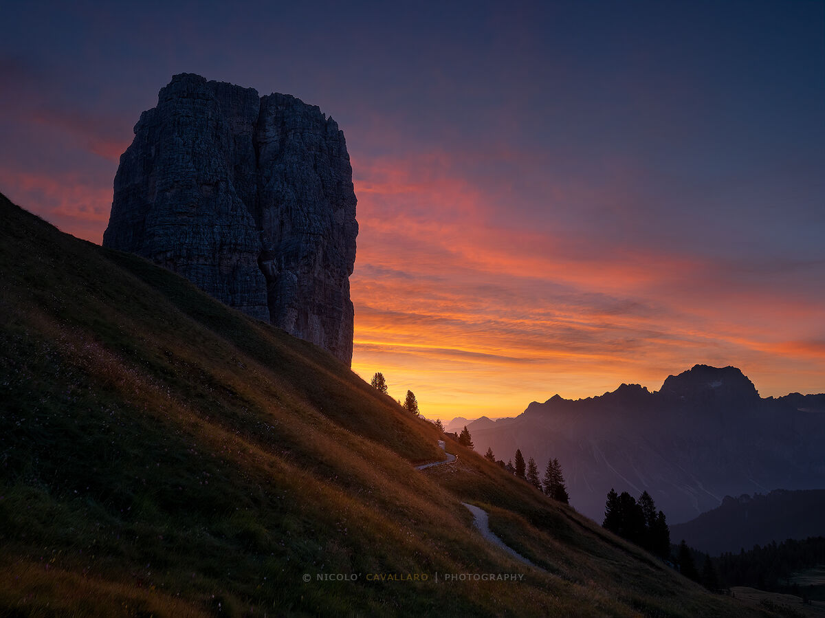 A new day in the Dolomites...