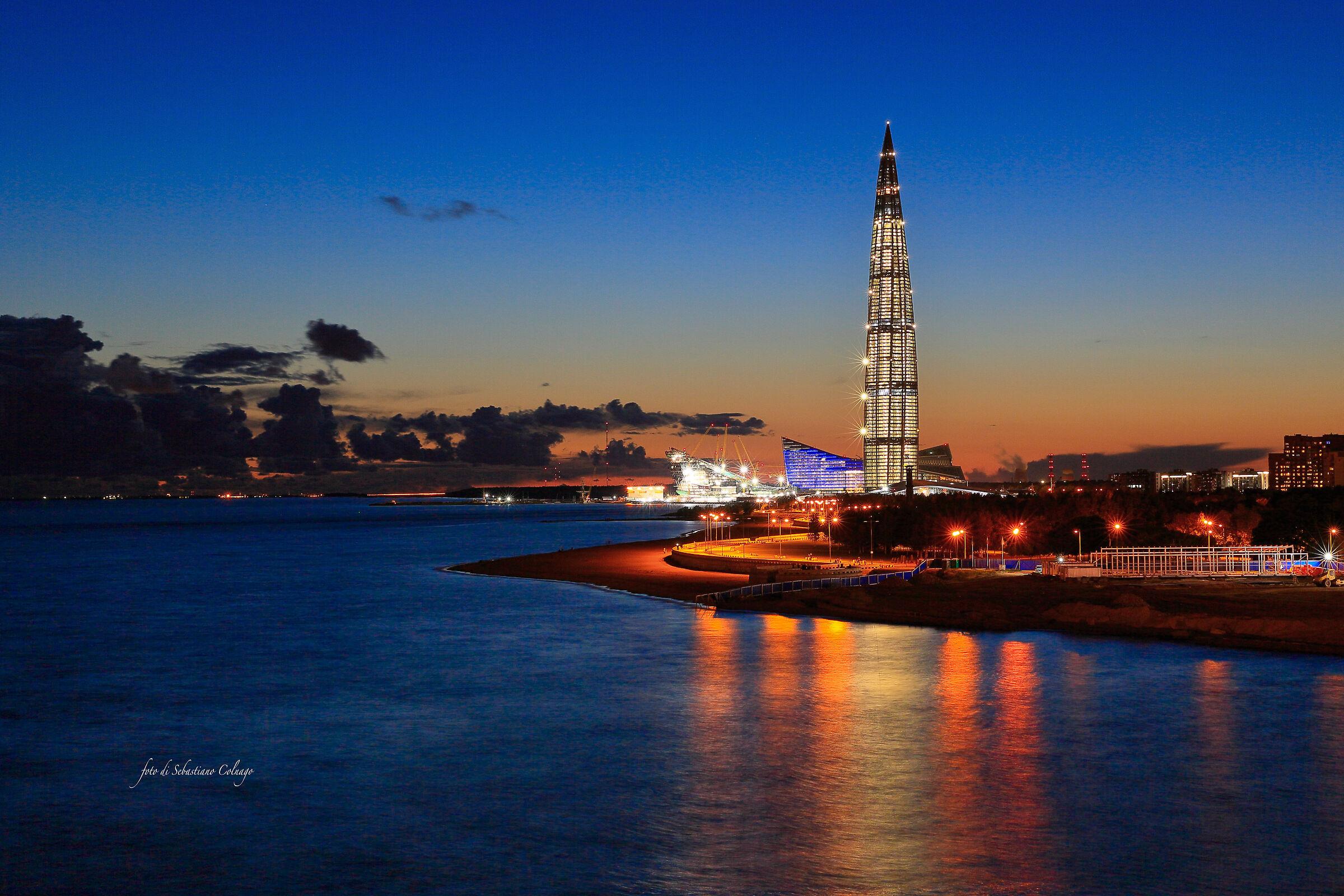 Gazprom Tower...