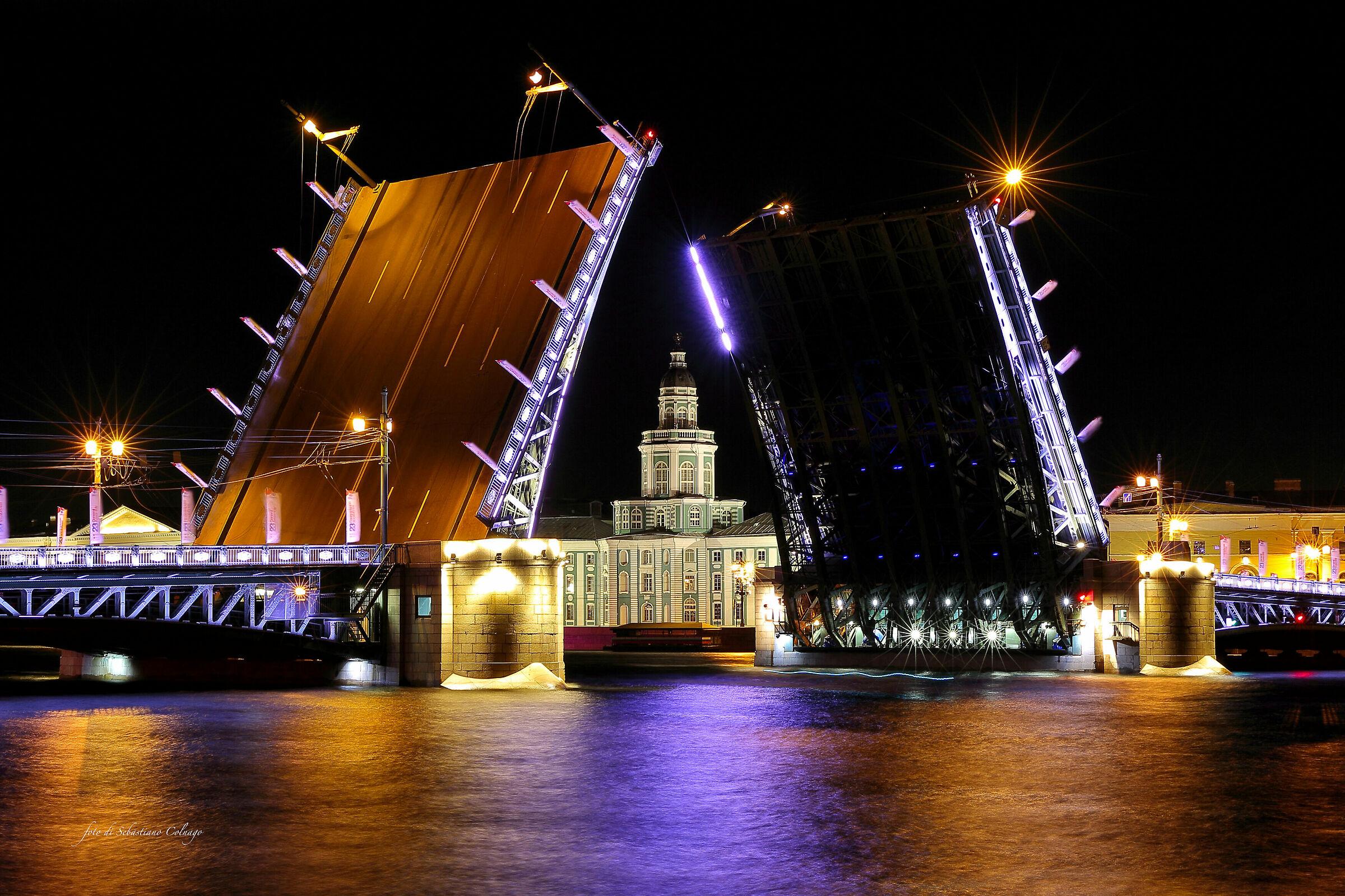 The Palace Bridge...