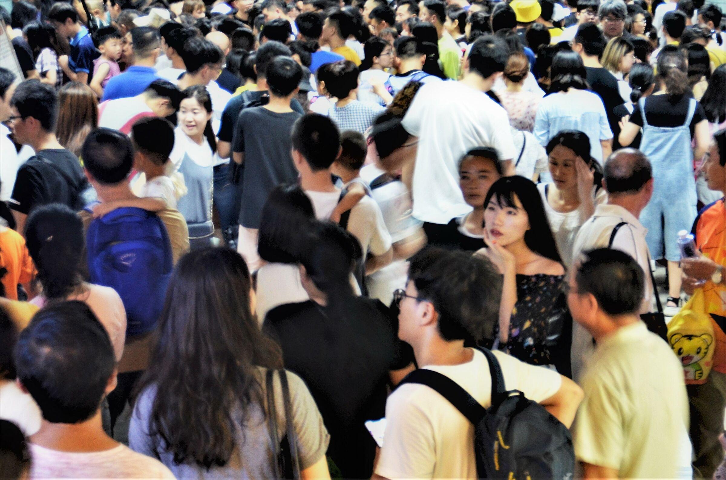 Beauty in a crowd...