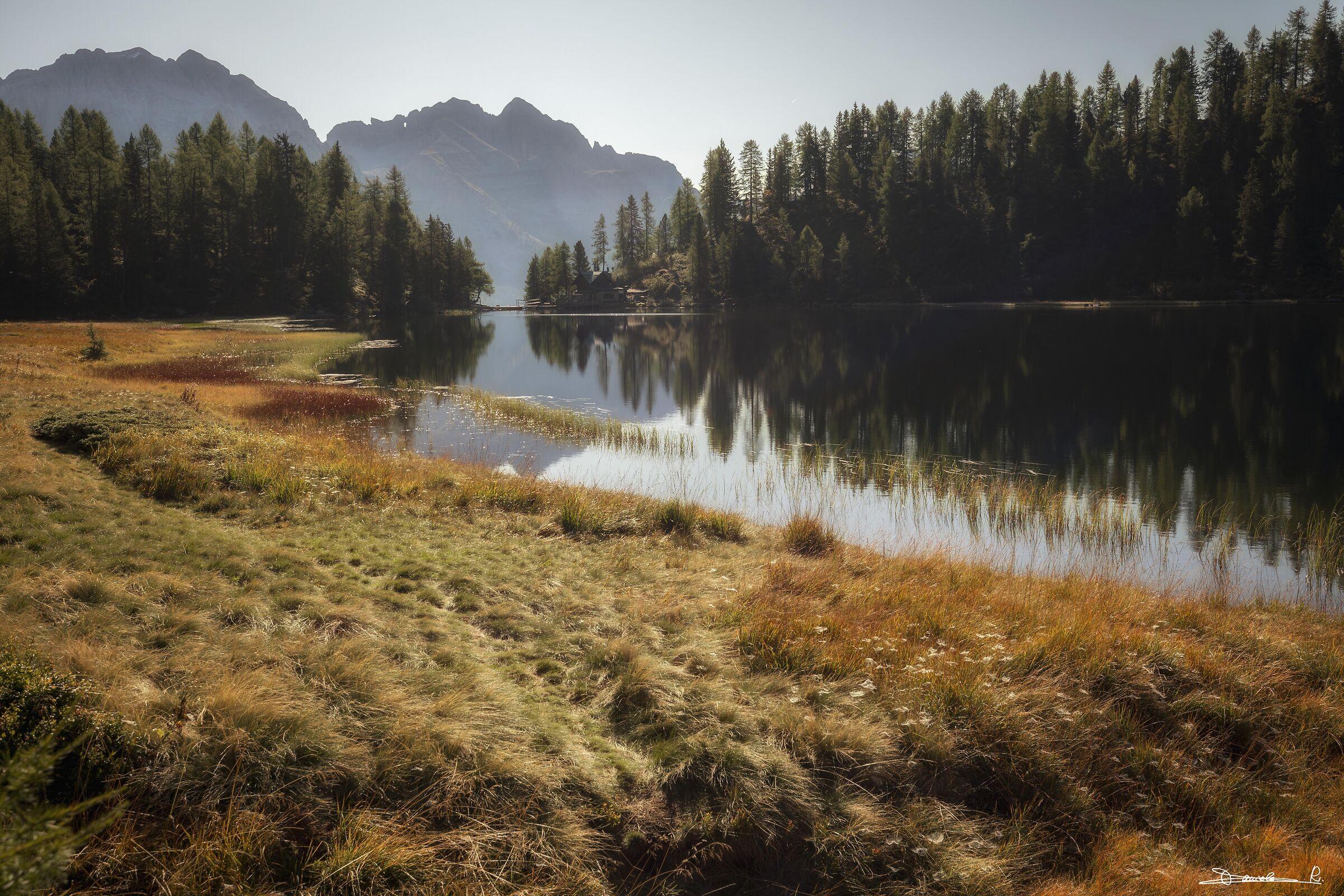Lago delle Malghette...