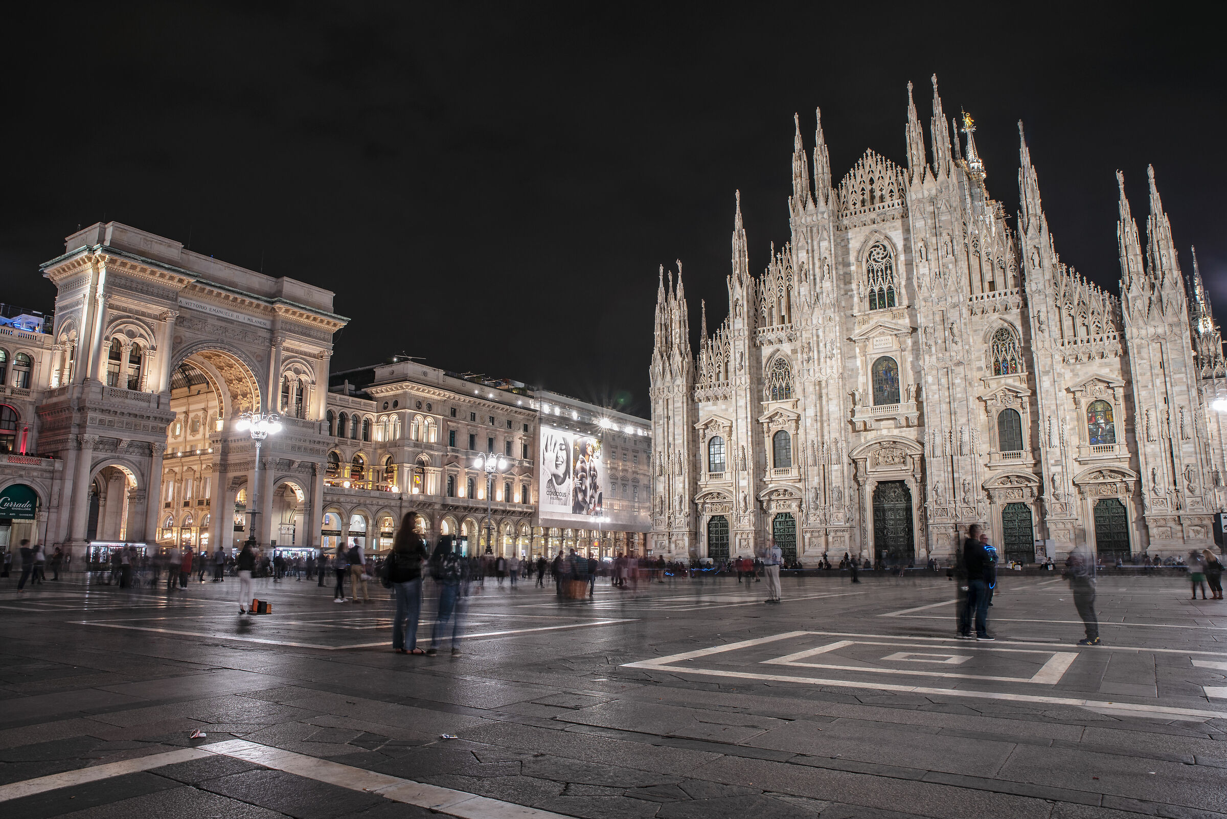 Piazza Duomo, Milan...