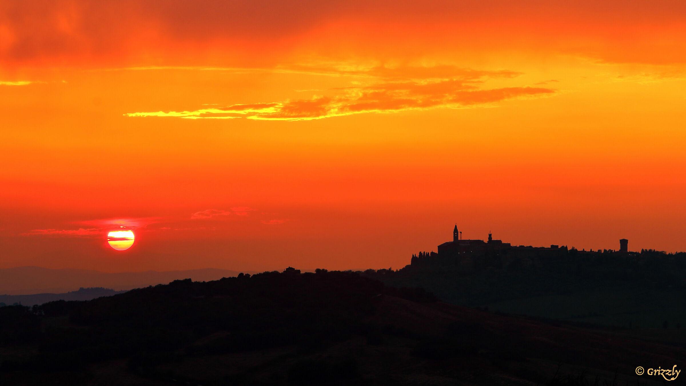 Pienza skyline...