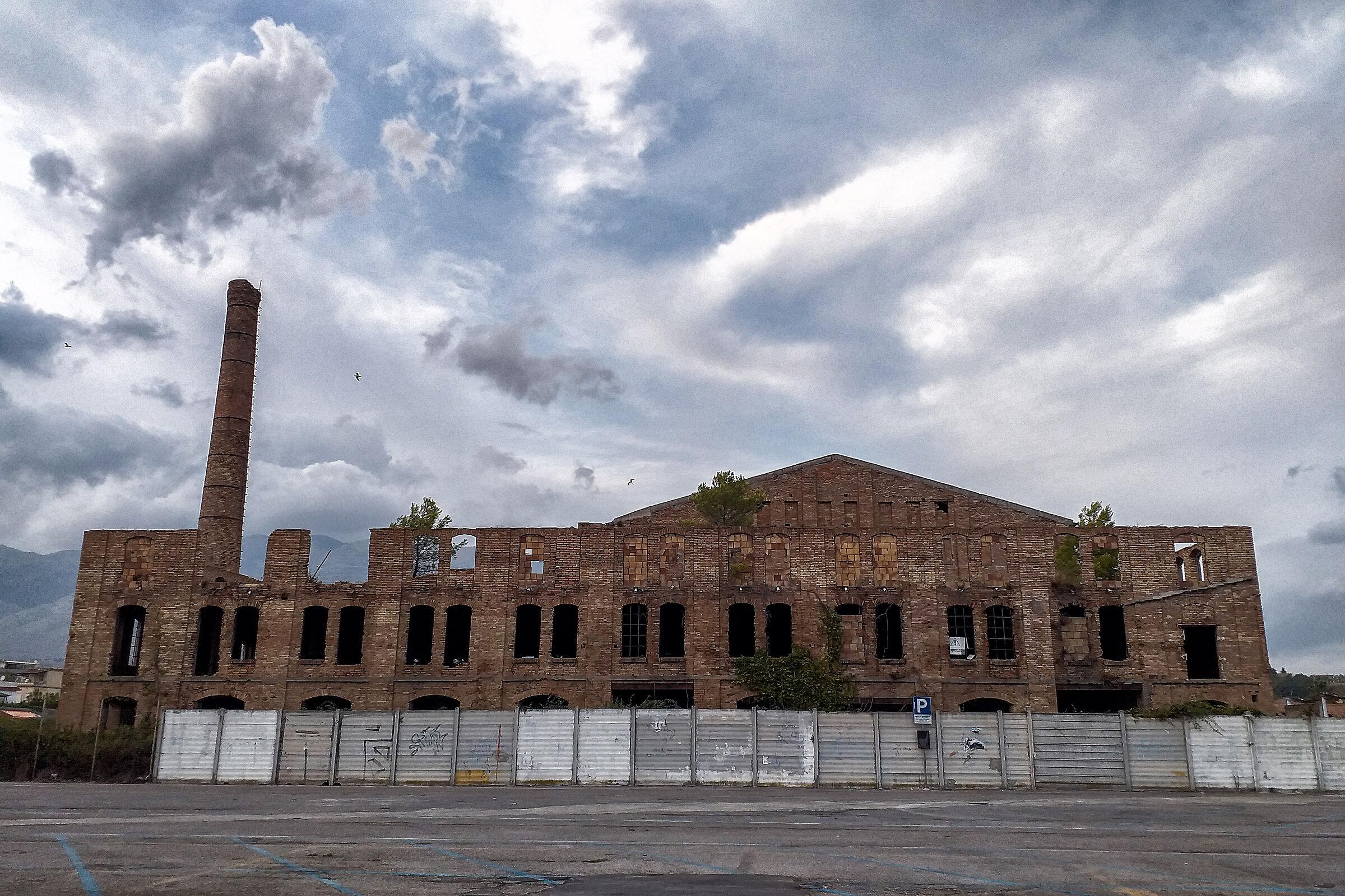 Former brick factory...