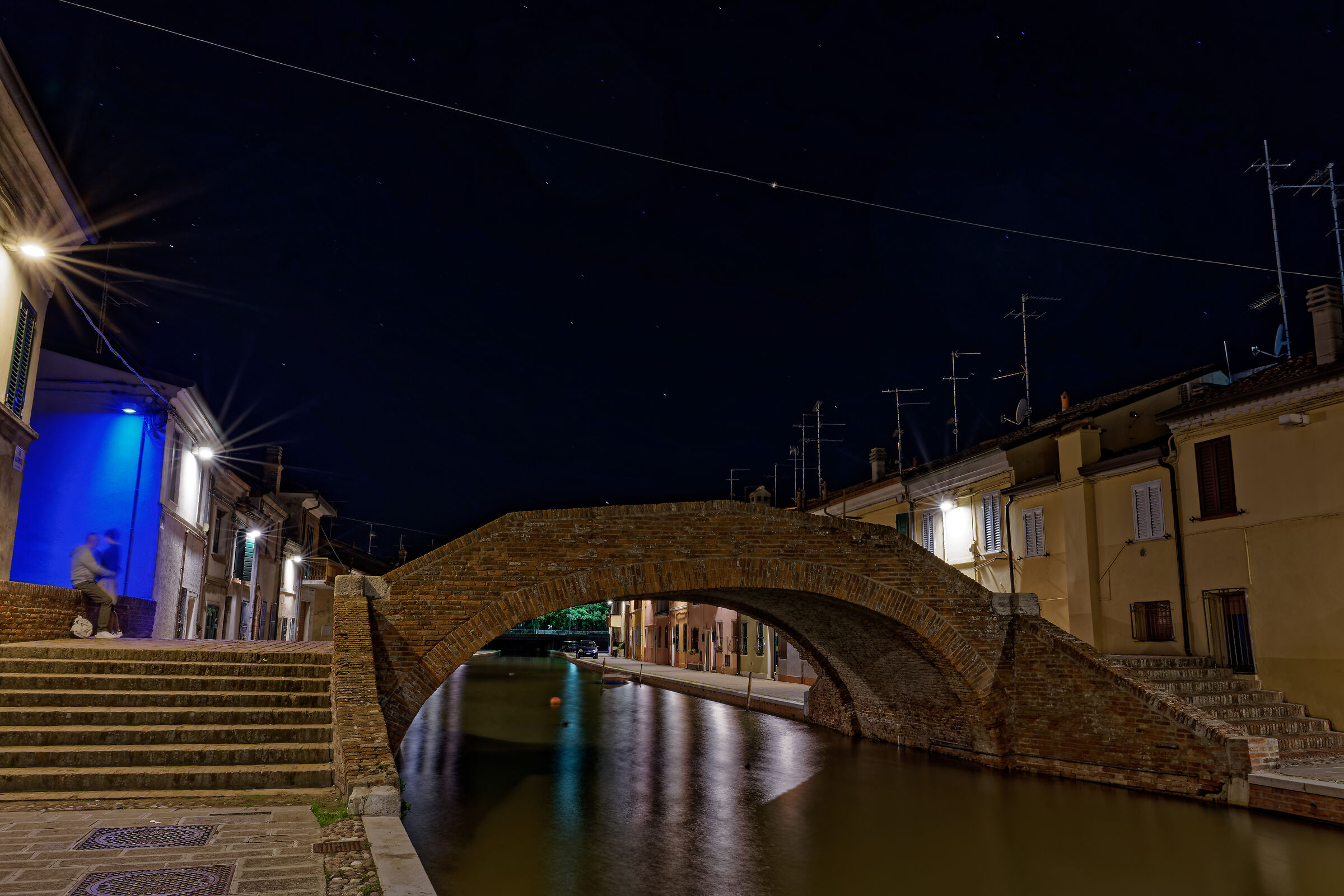 Romeo and Juliet in Comacchio...