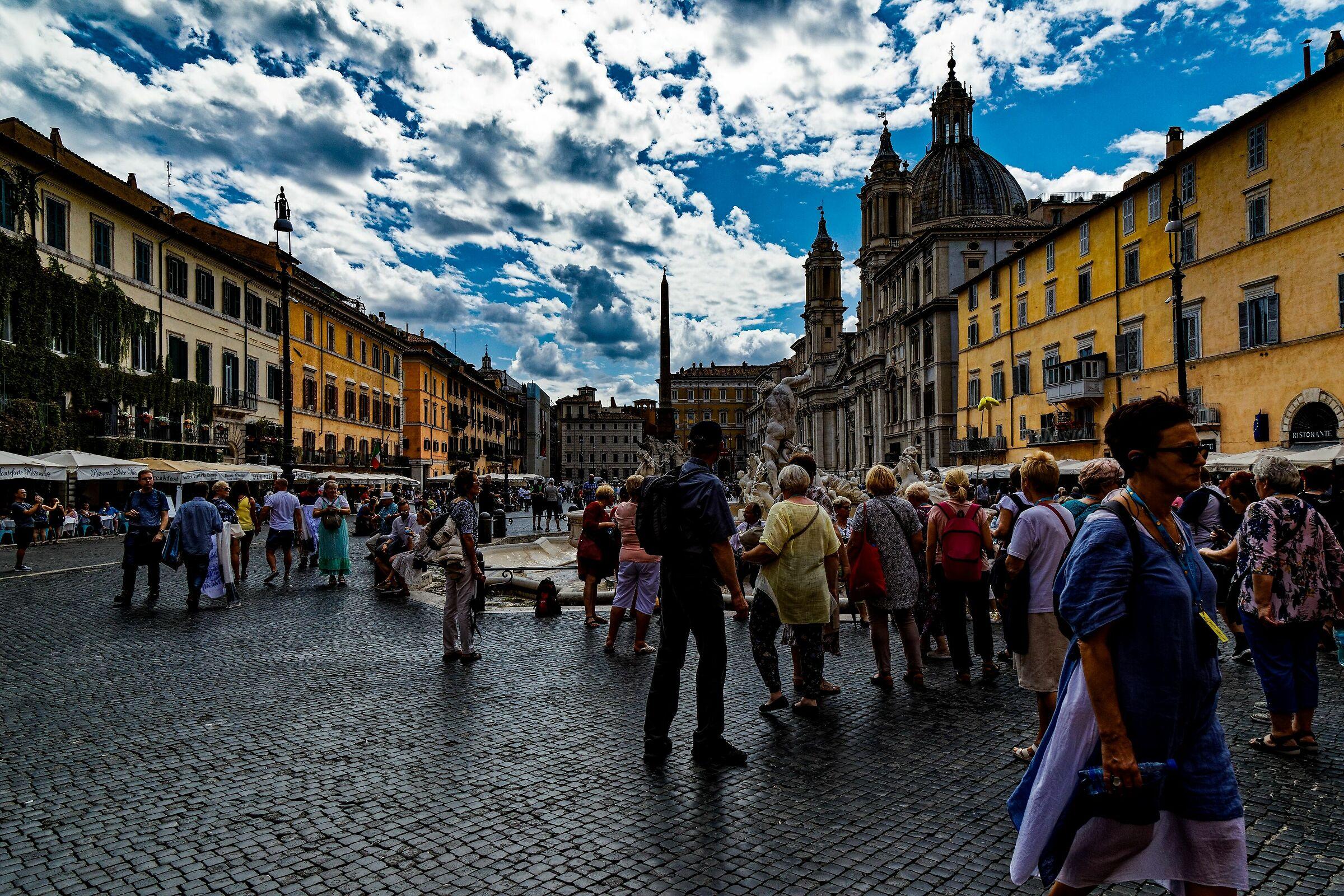 Piazza Navona...