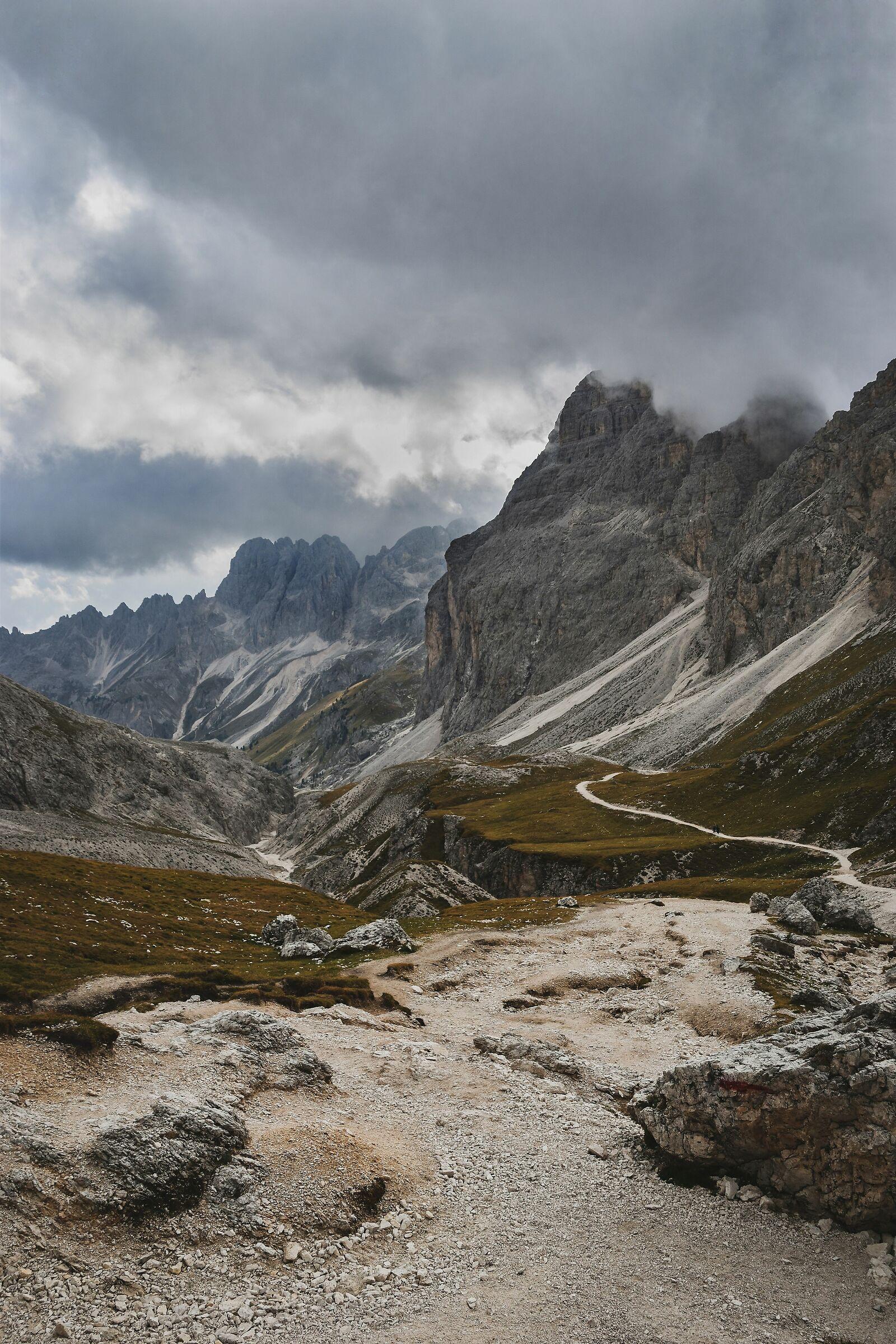 Panorama in Val di Fassa...