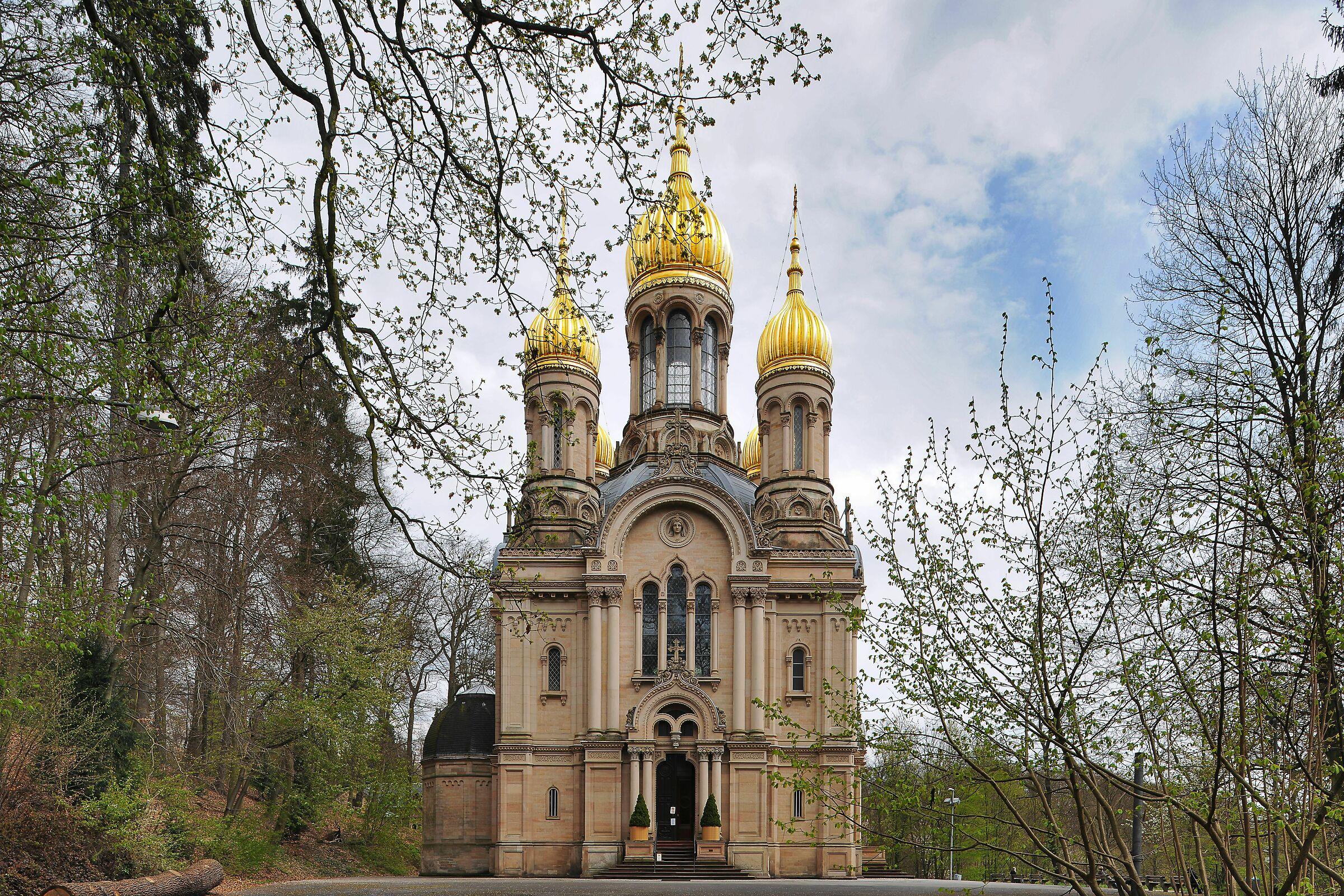 Orthodox Church, Wiesbaden, Germany...