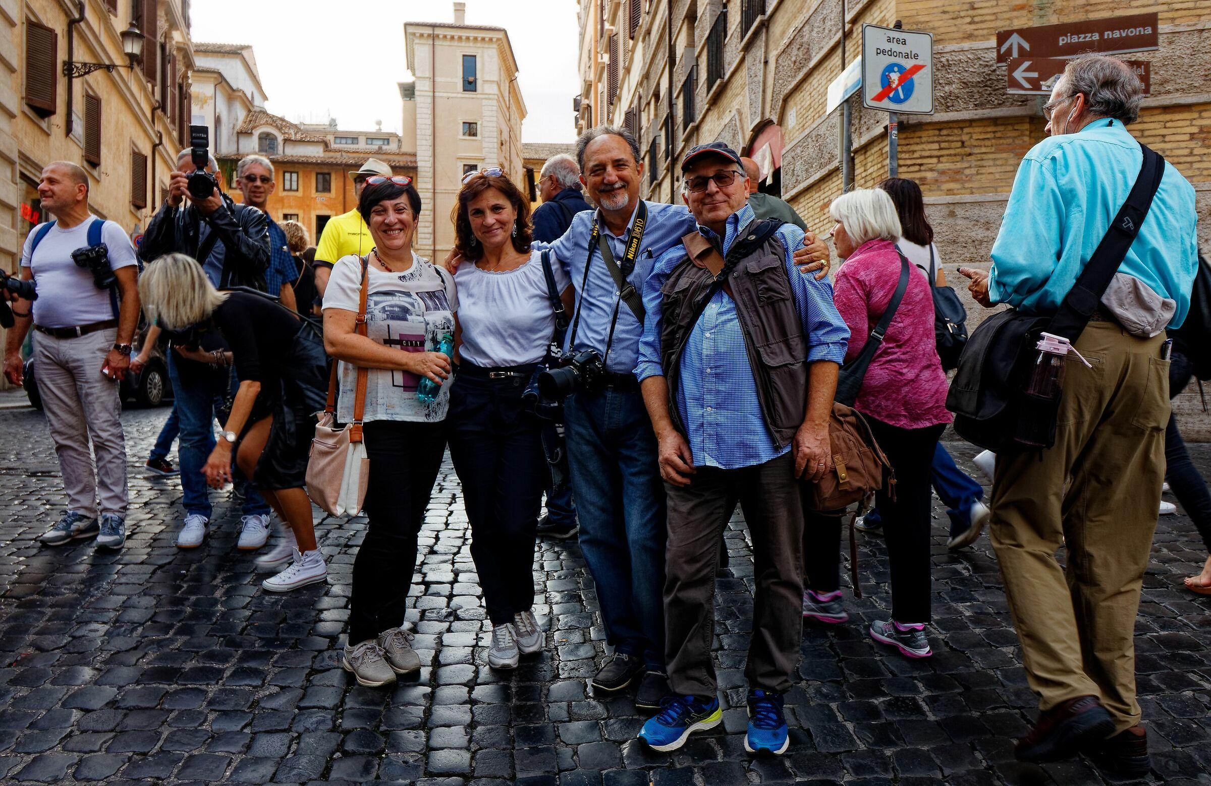 Photojournalists around Rome...