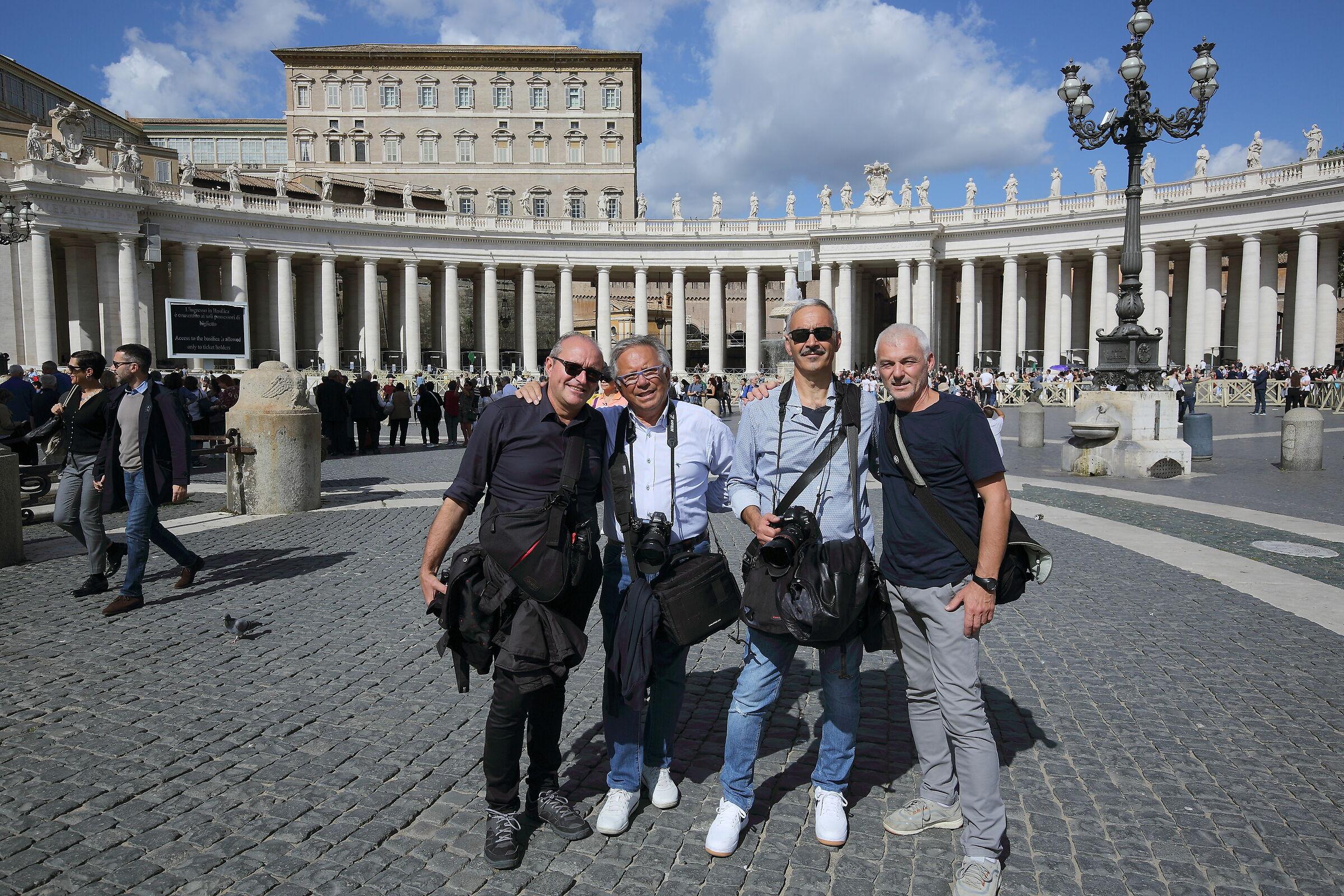 Meet us in St. Peter's...