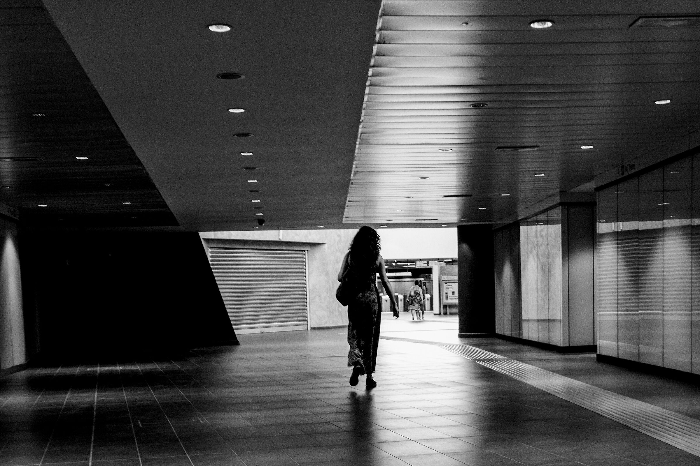 Metro C Station Teano...