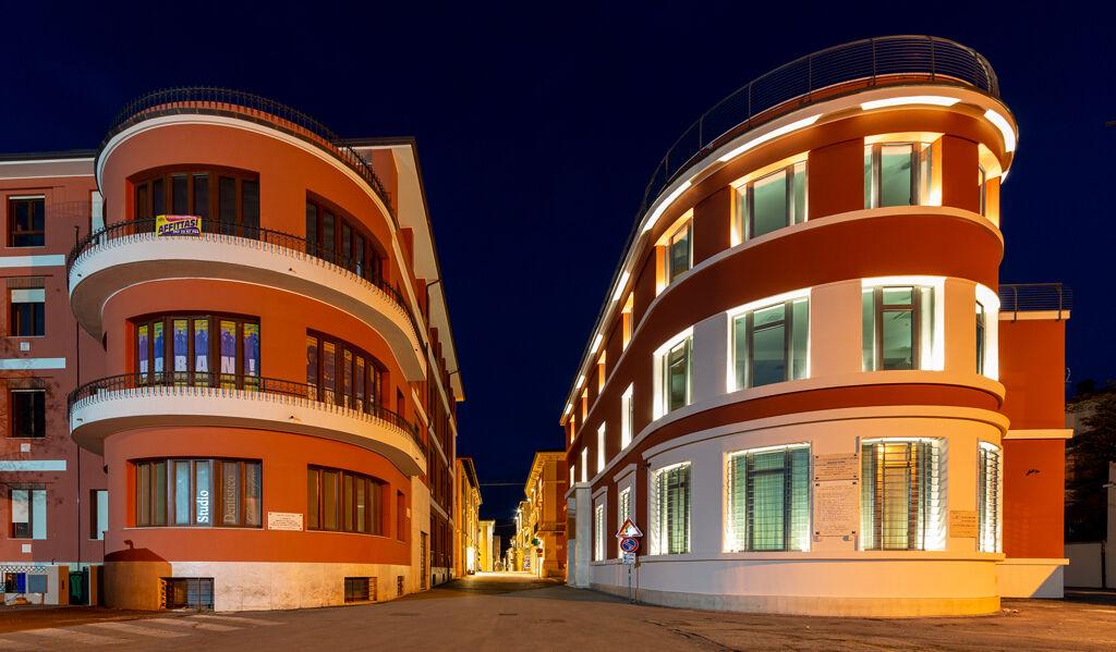 Corso Vittorio Emanuele di notte - L'Aquila...