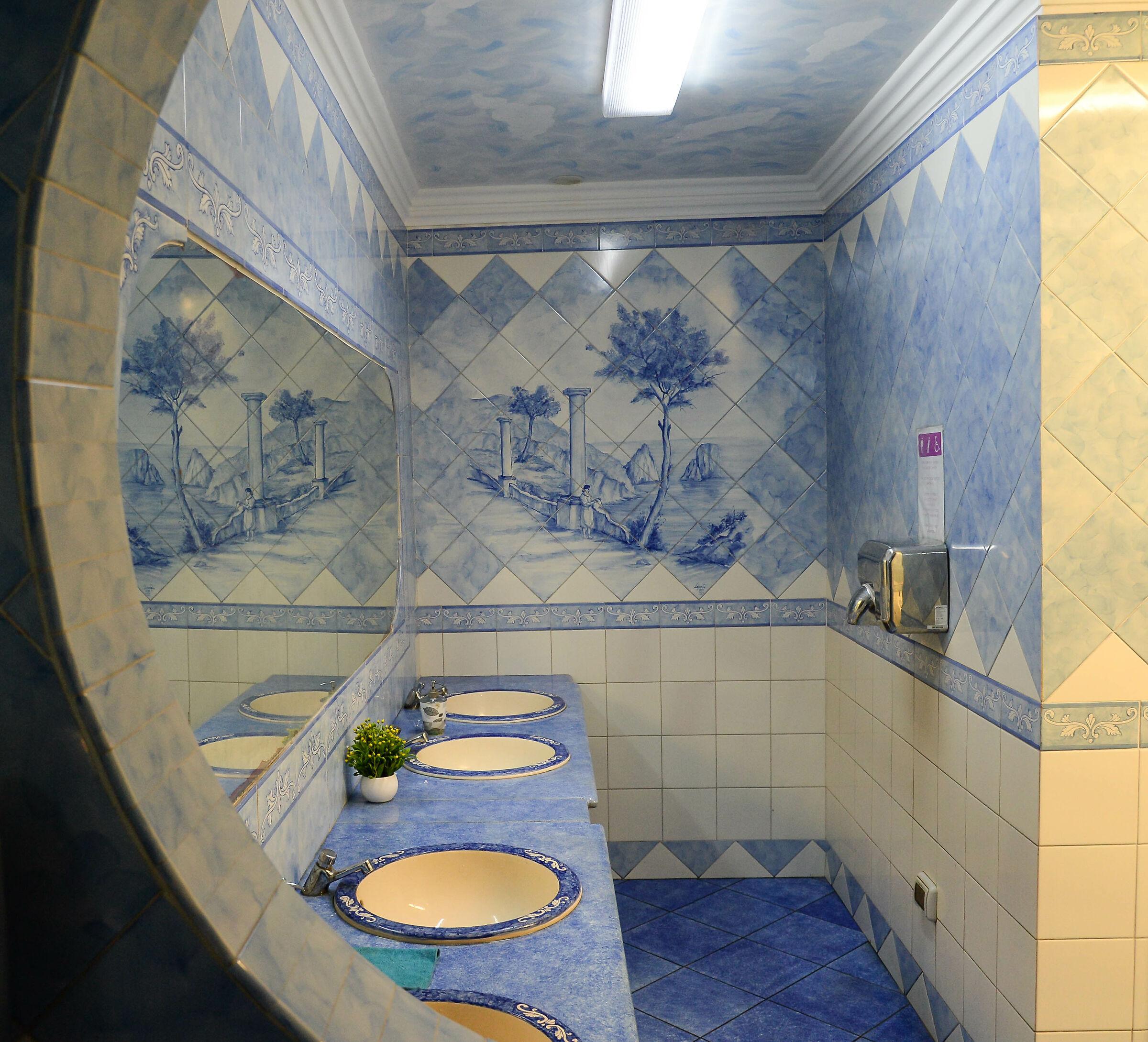 Capri, a public toilet...