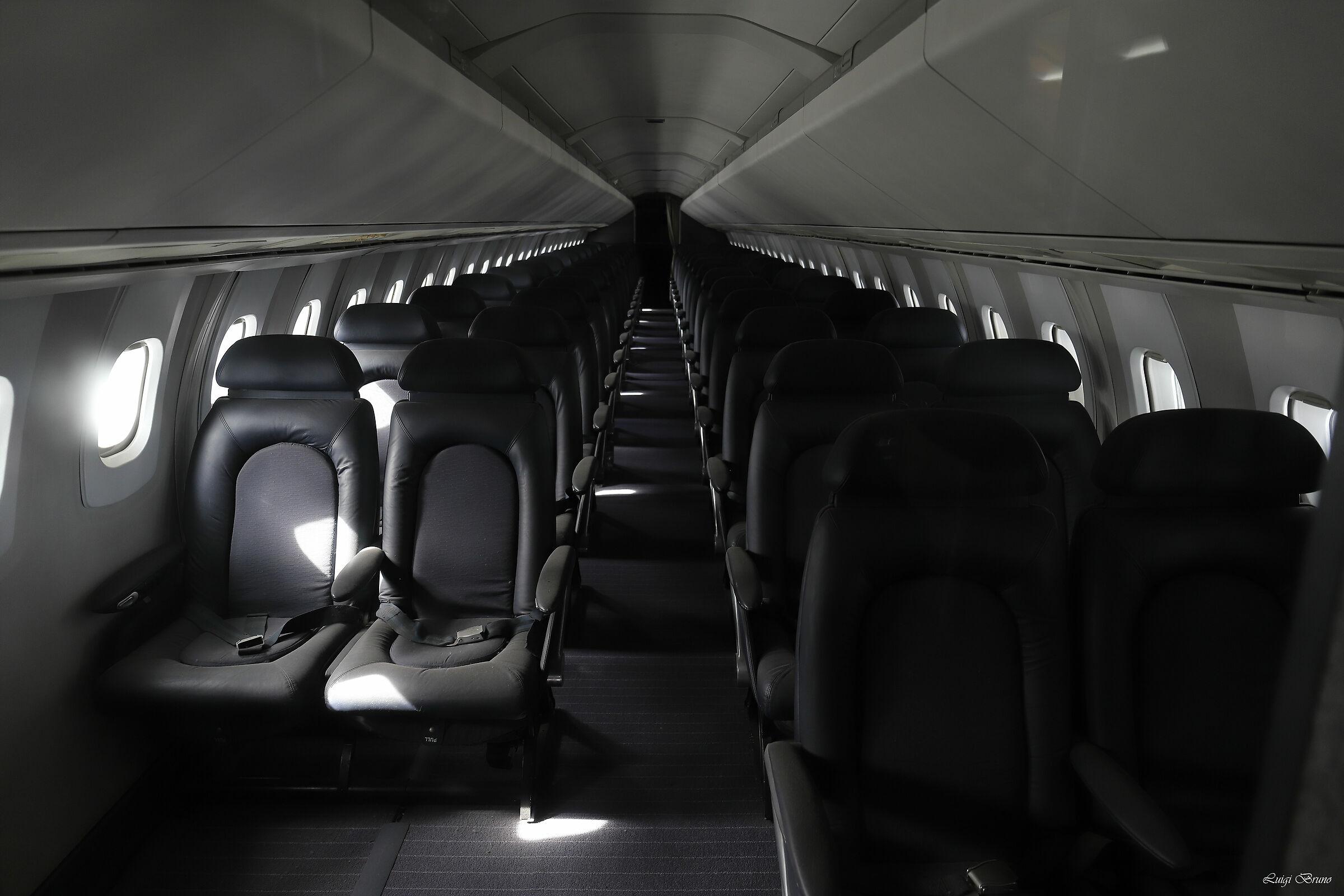 A resting plane...