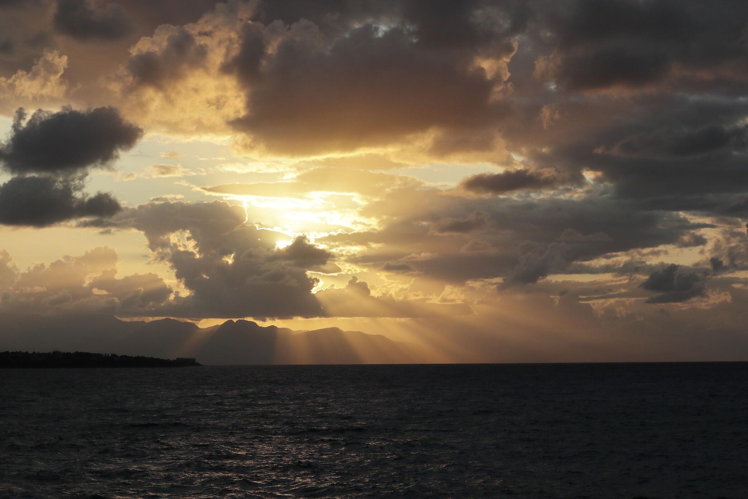 Sunset at Kefal...