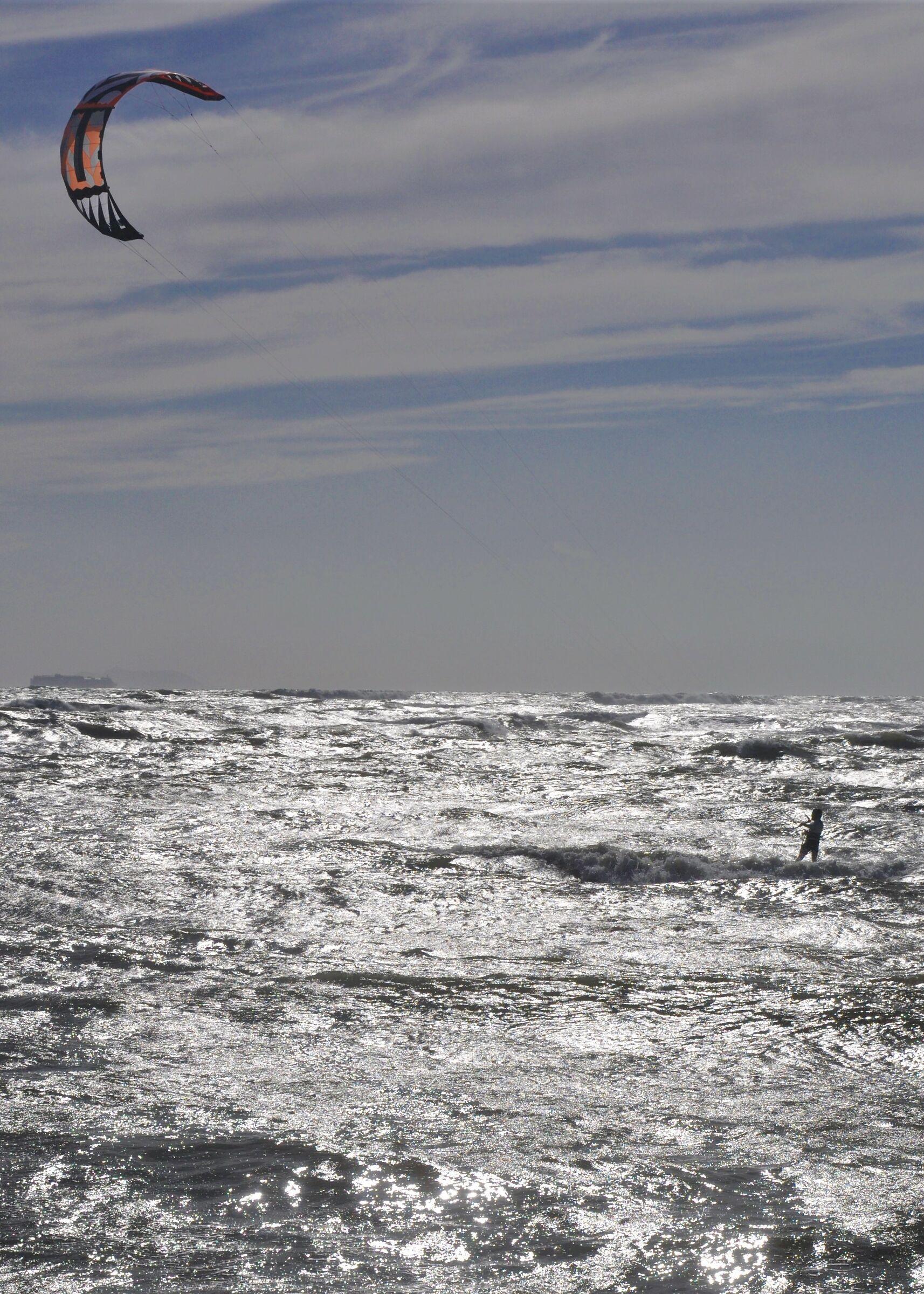 La spinta del vento .......
