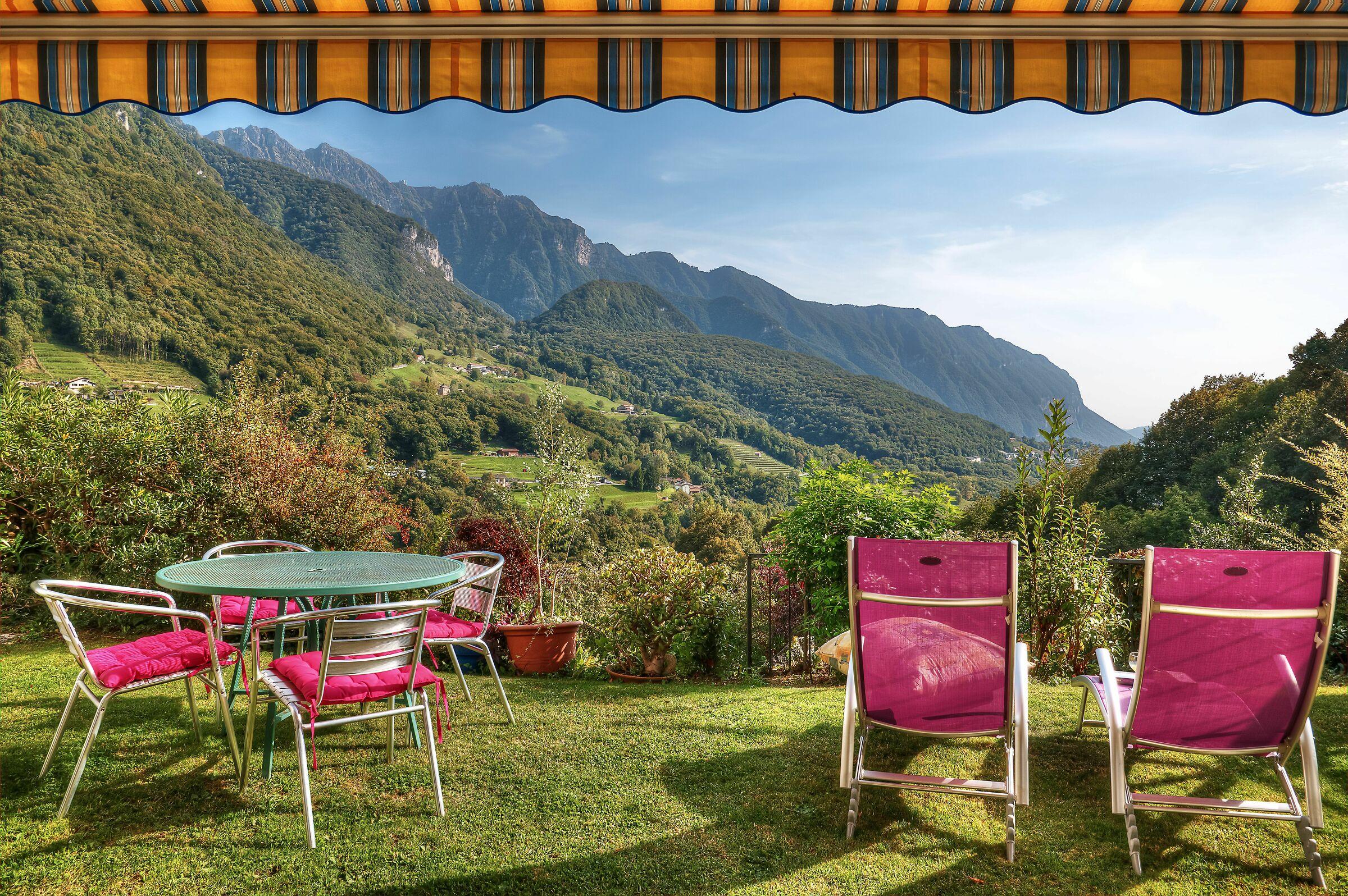 Mountain View; Arogno, Switzerland...