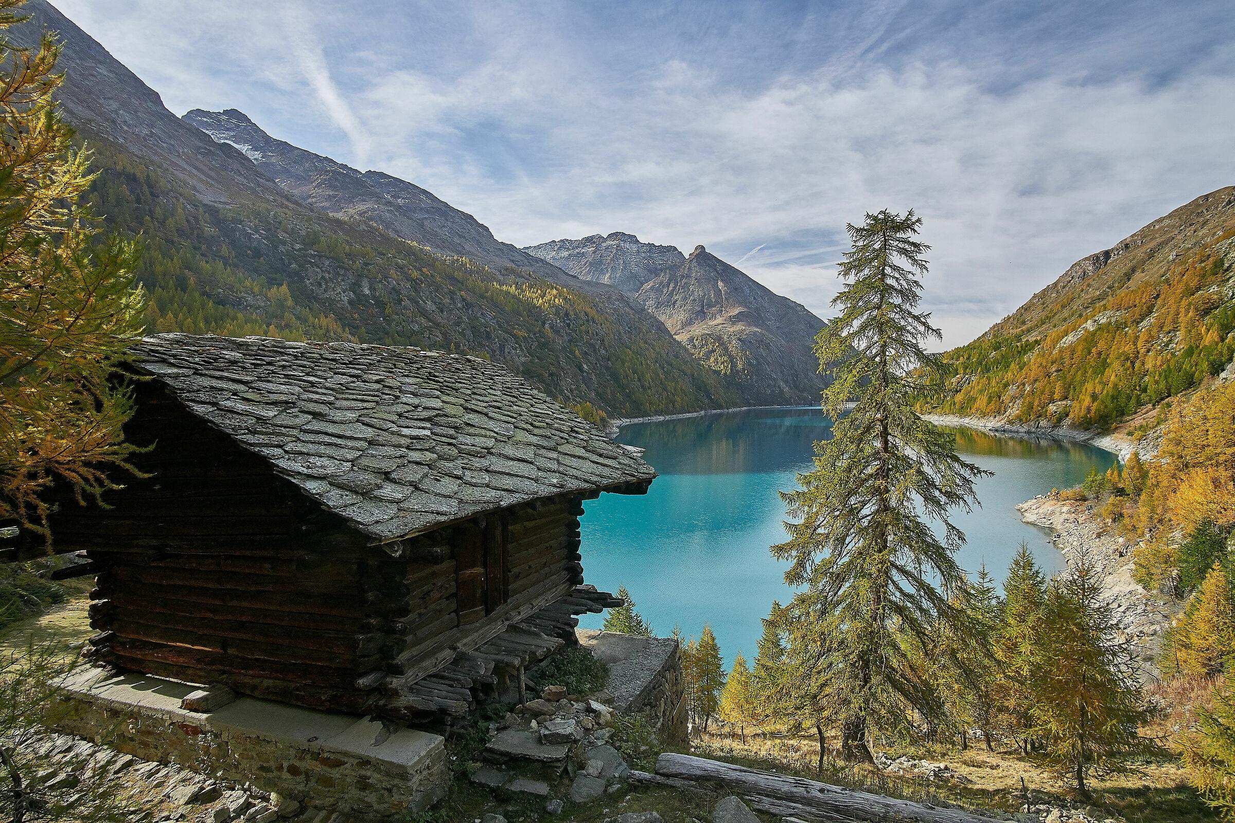 Lago di Place Moulin...