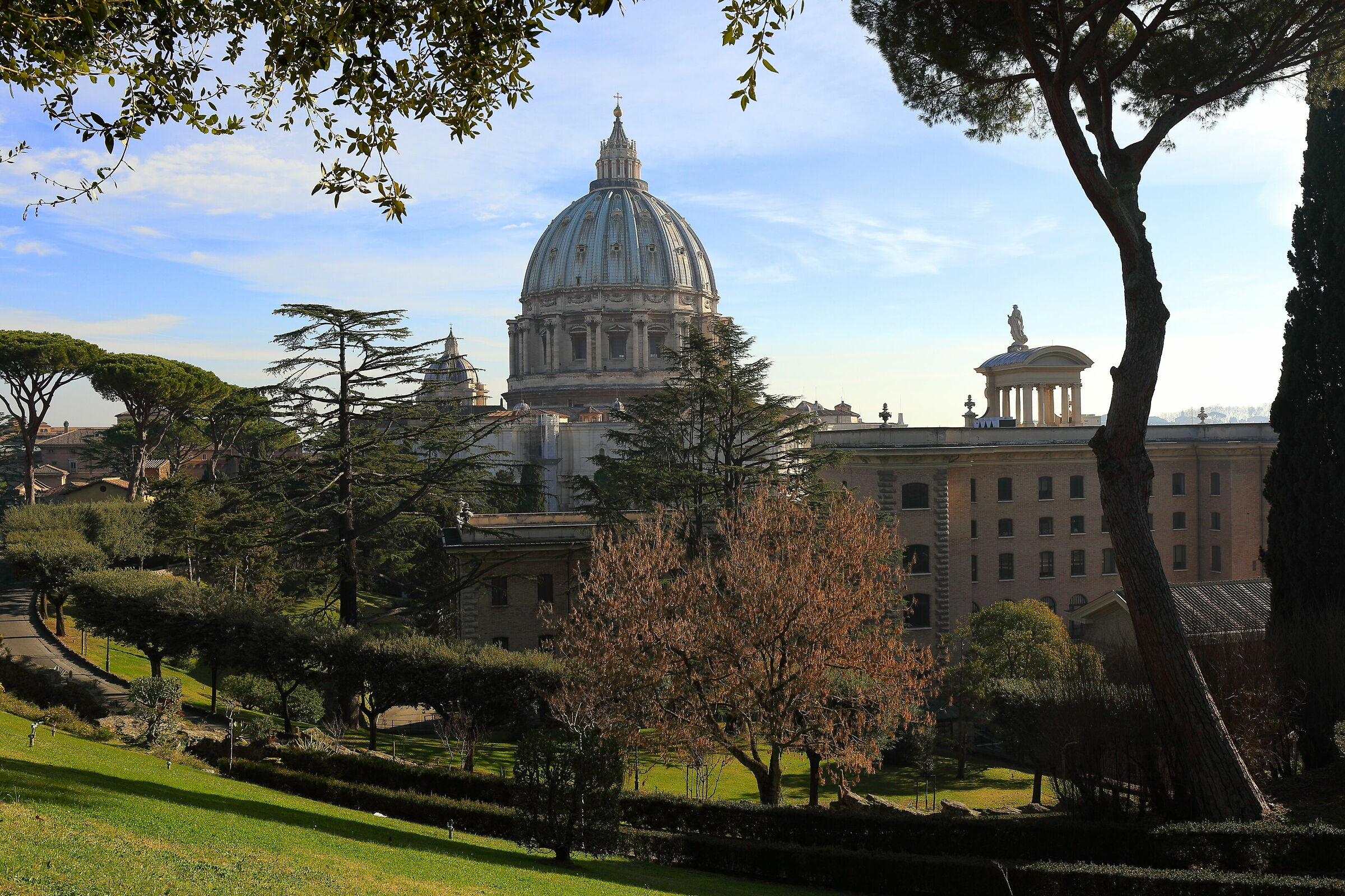 St. Peter from the Vatican Gardens...