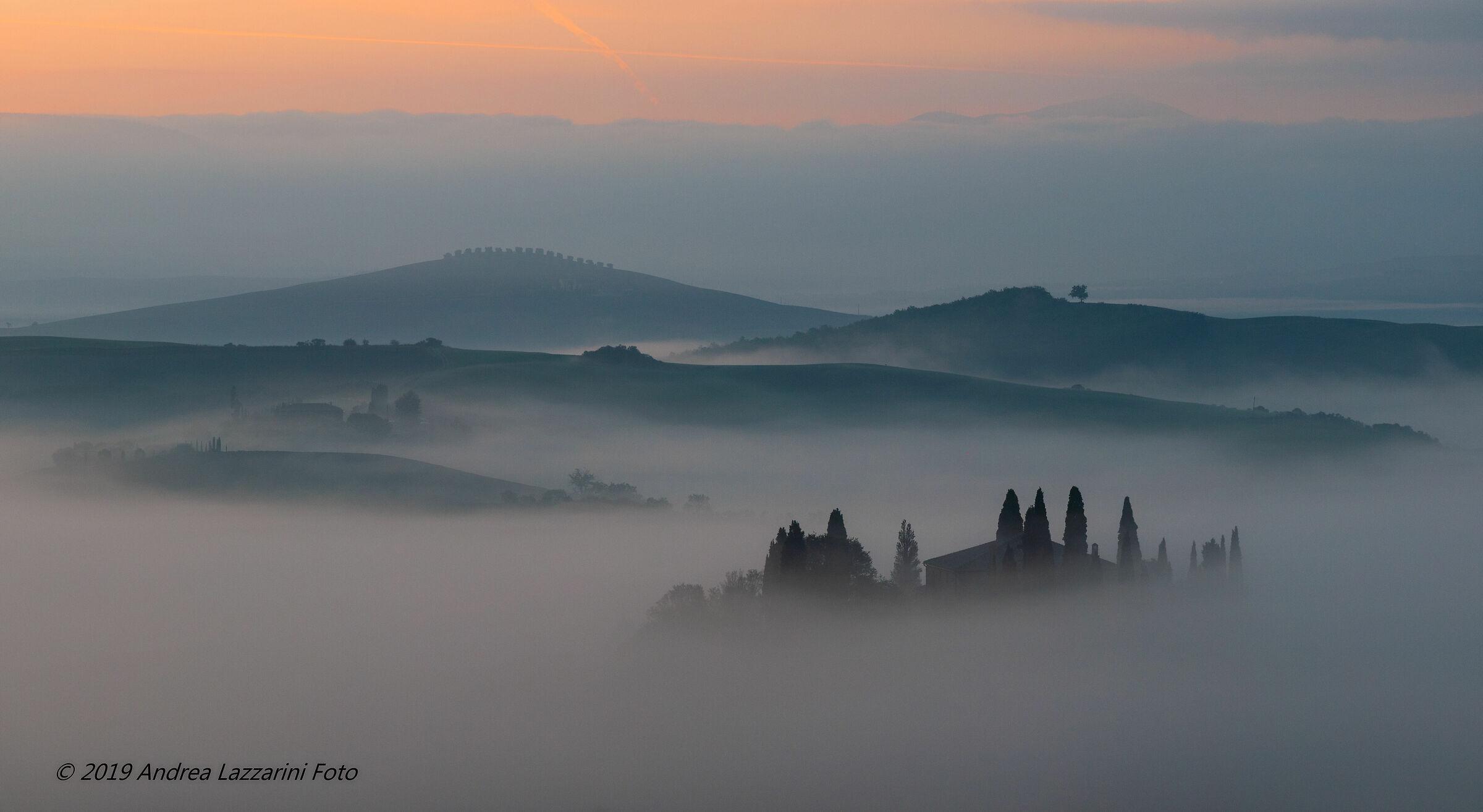 Foggy Dawn, Sat.,...