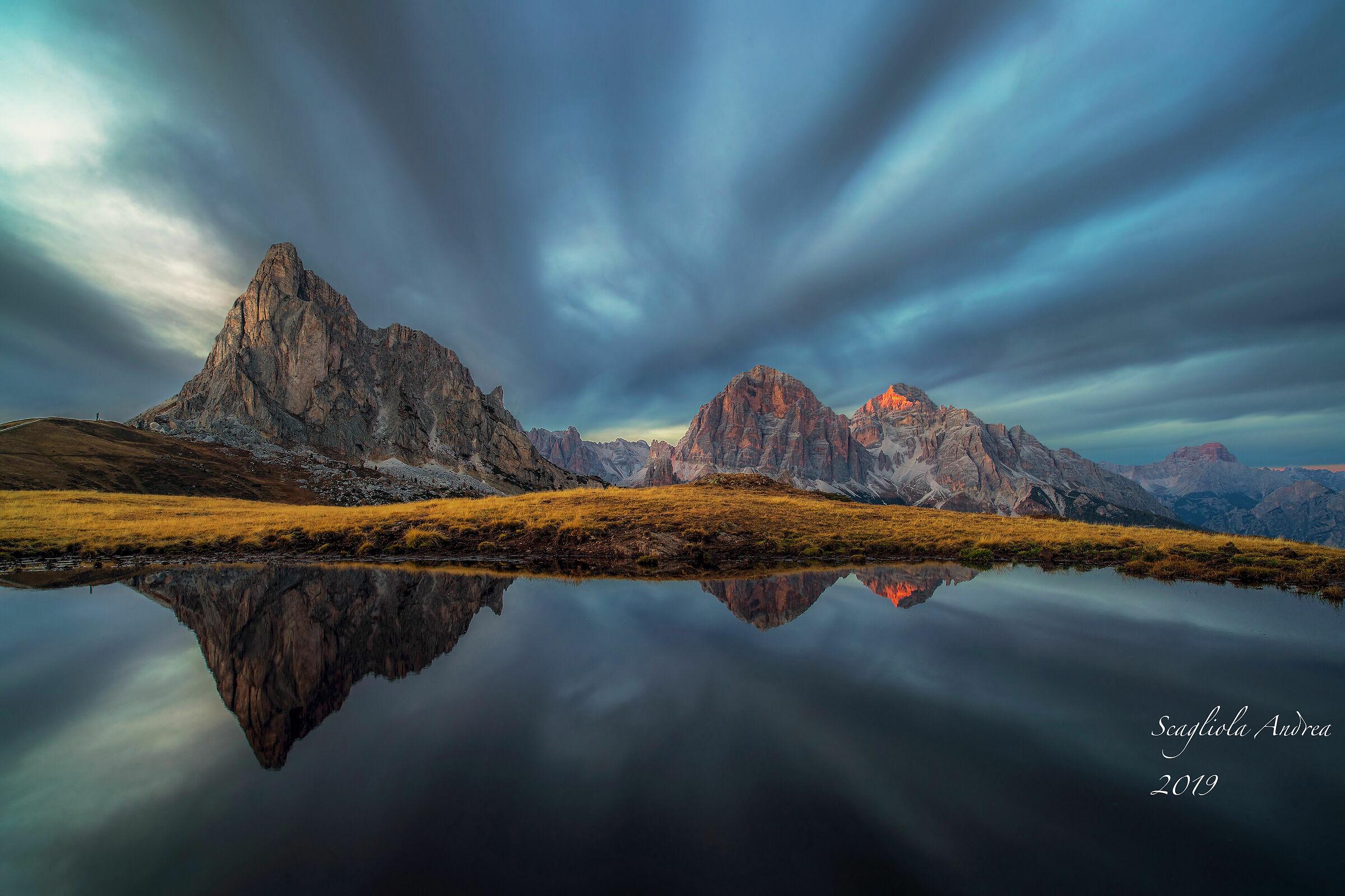 Dolomites reflected...