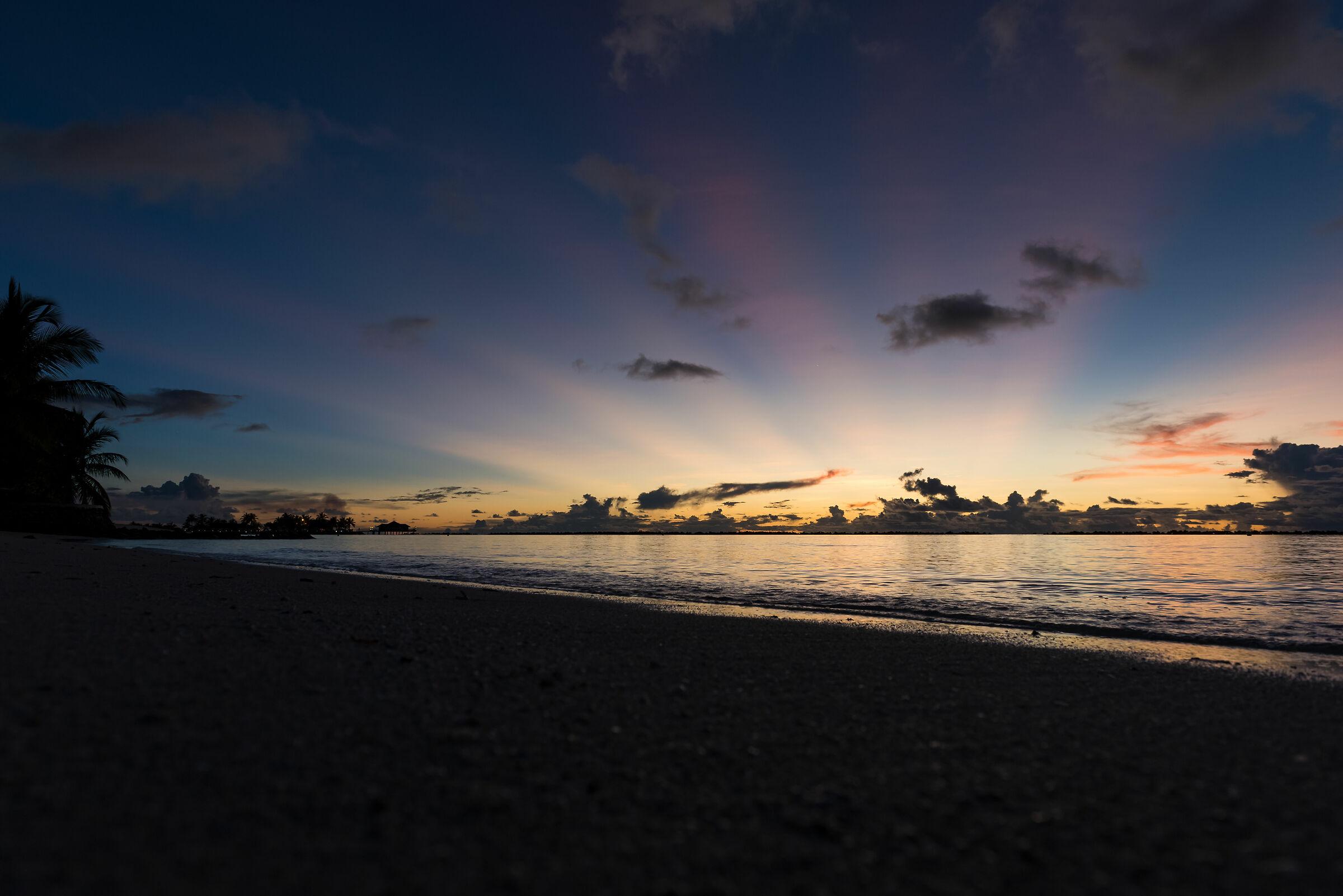 Sky and Sand...