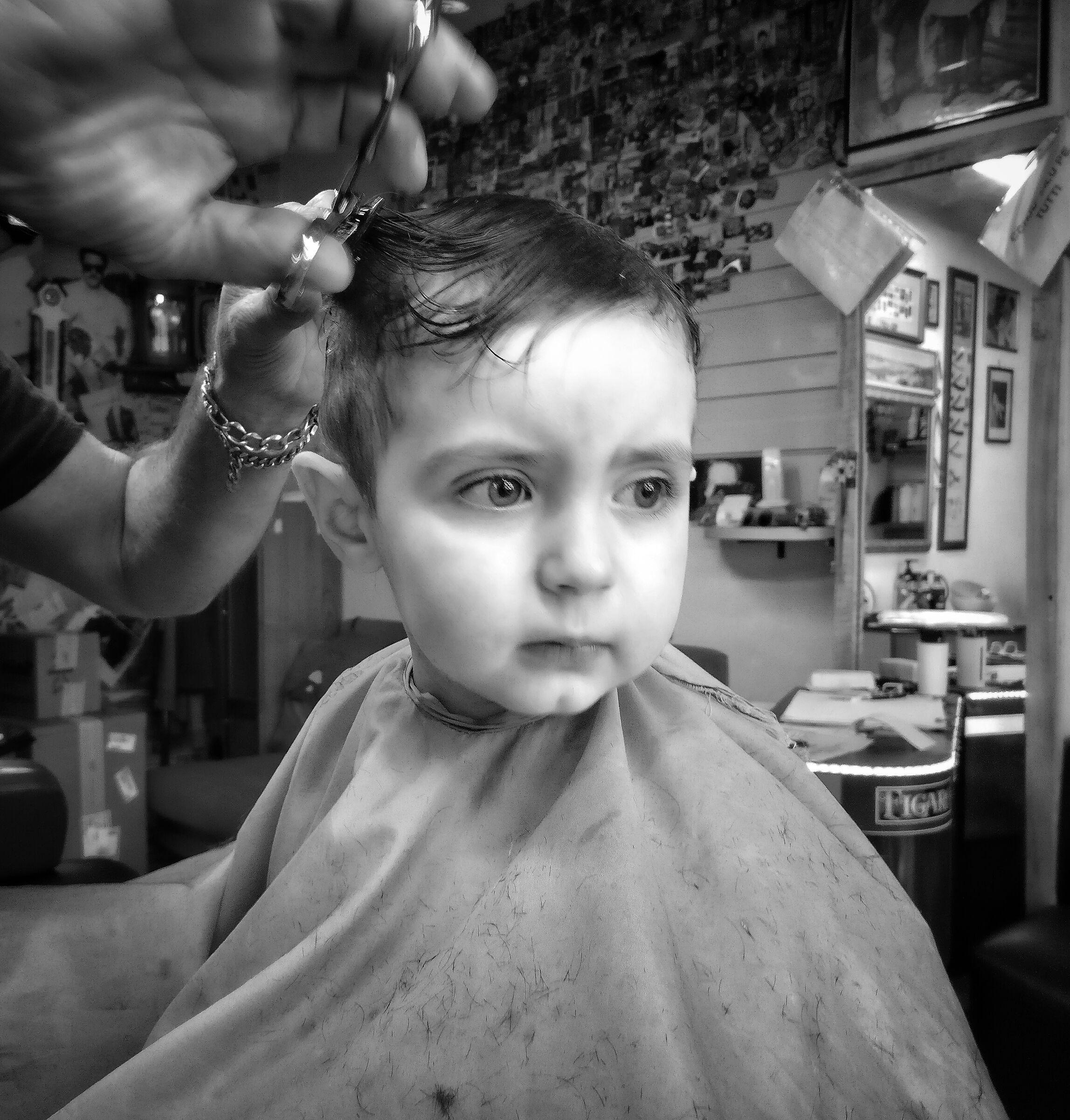 Adoro il barbiere...
