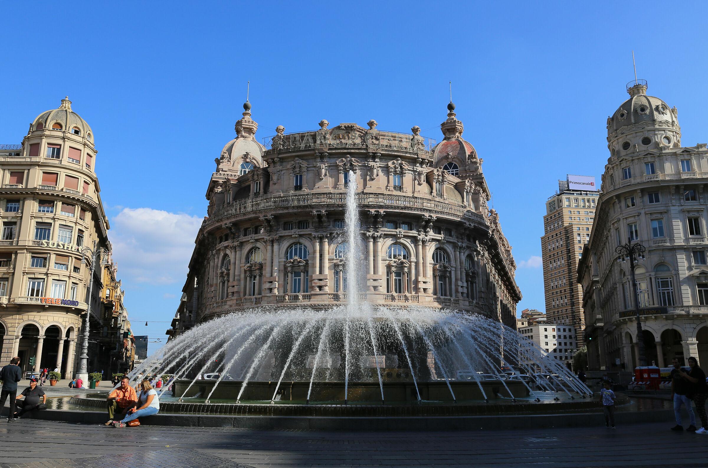 Piazza De Ferrari Genoa...