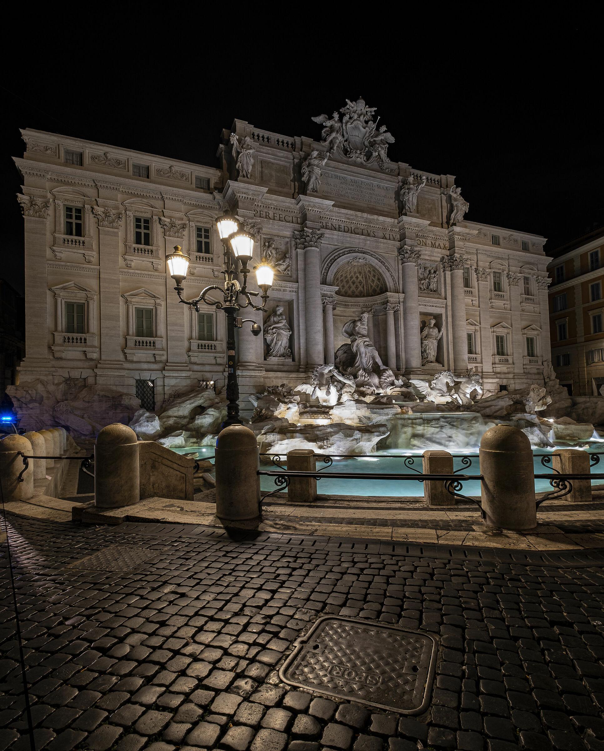 Trevi Fountain...