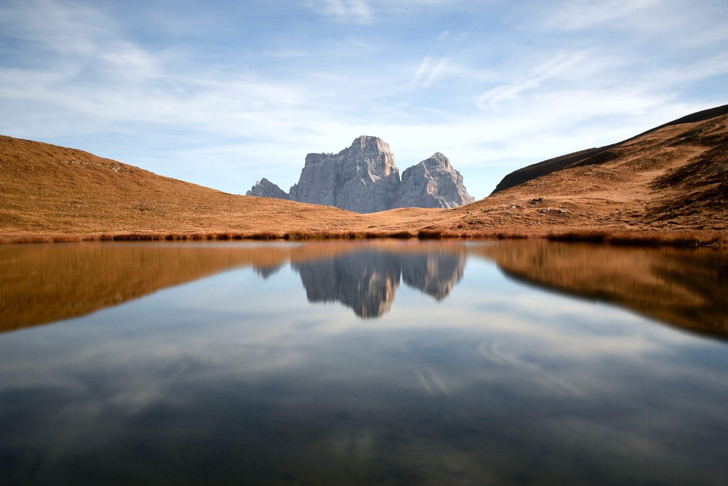 Lake Of Baste and Pelmo...