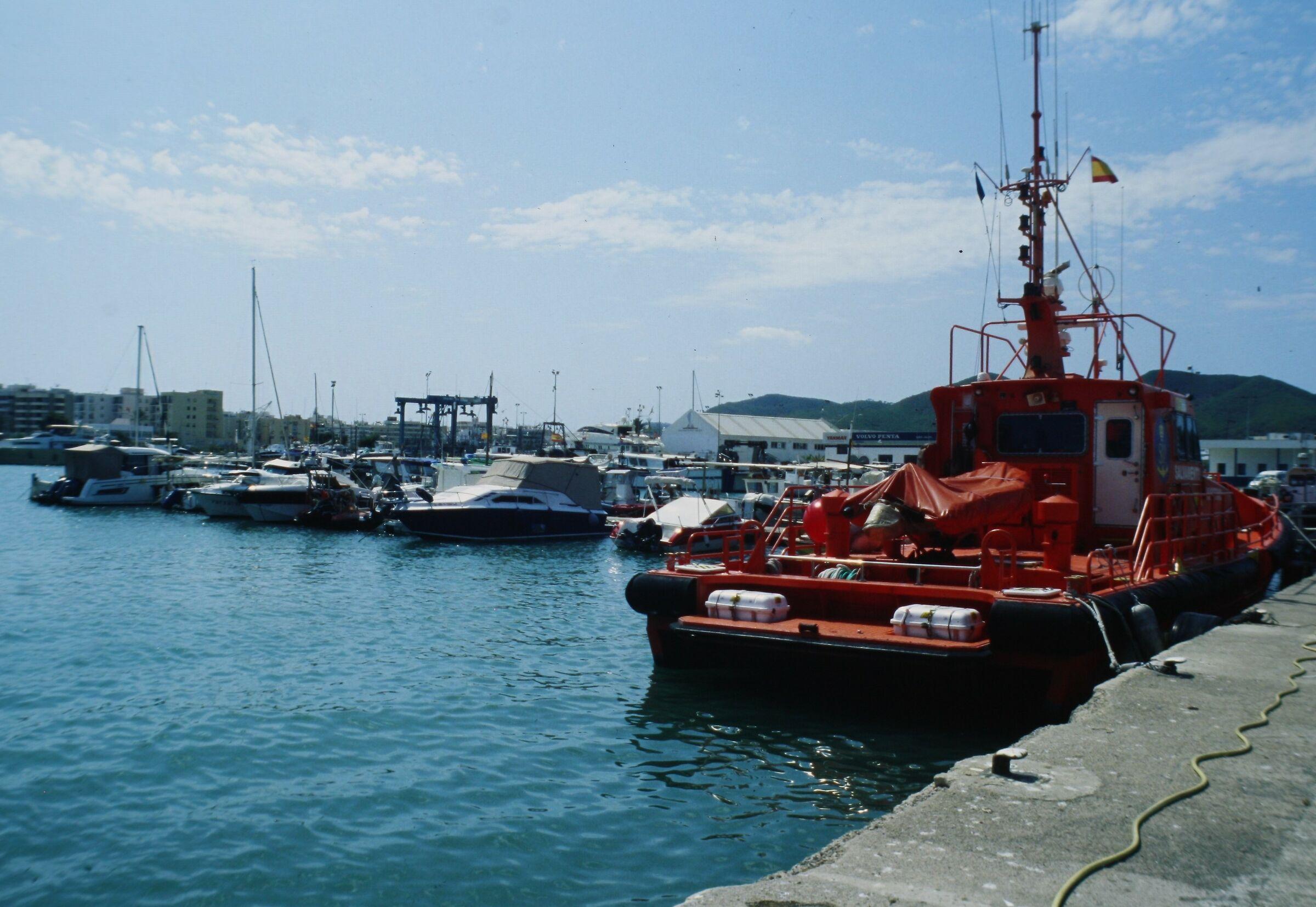 Porto di Ibiza (agosto 2019)...