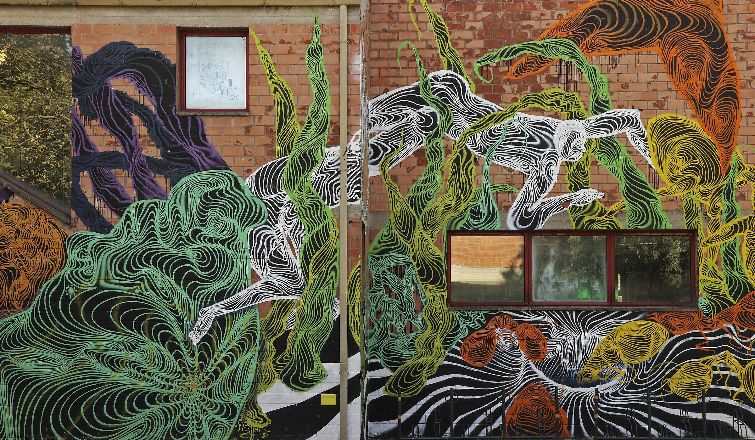 Murals ...