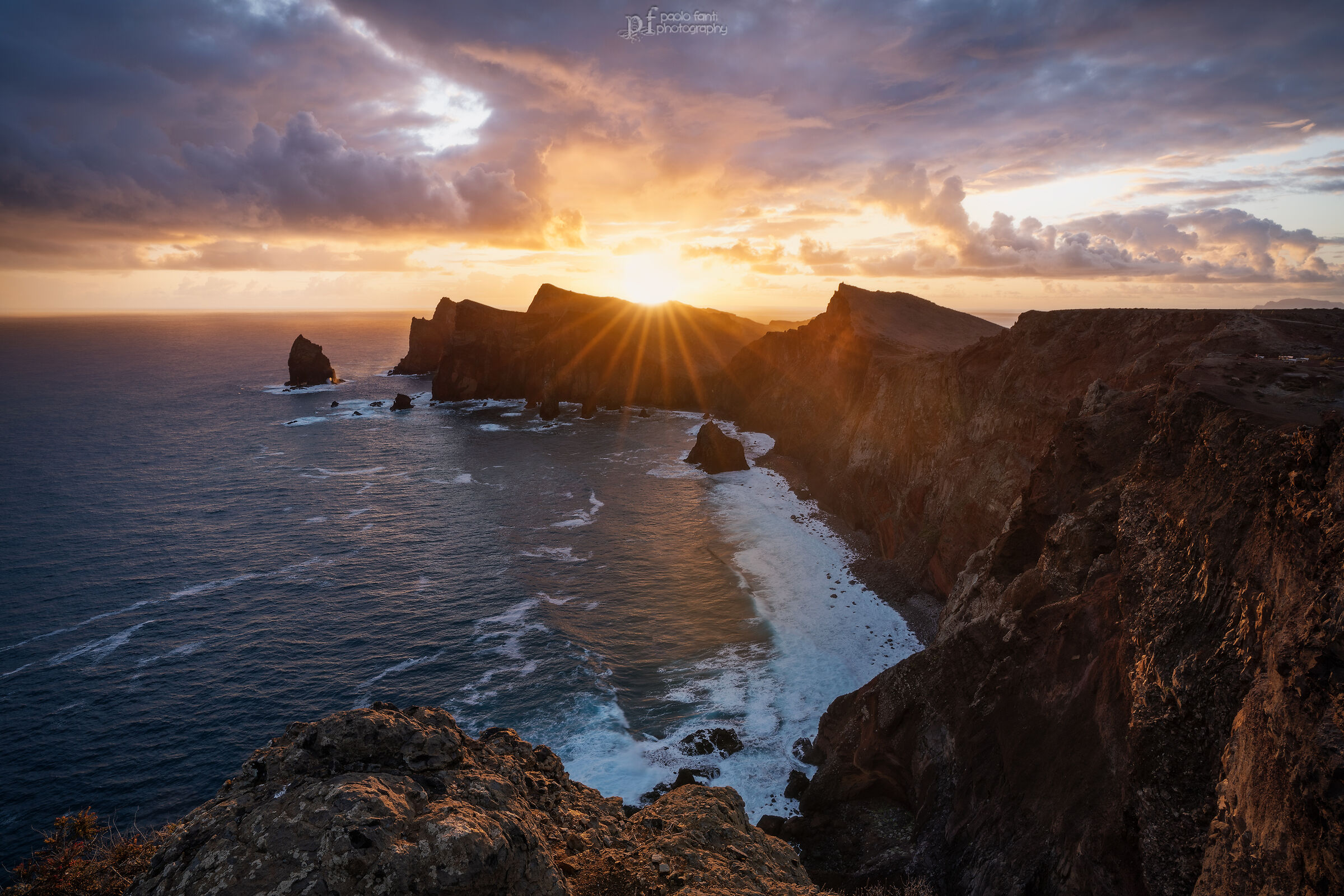Sunrise in Madeira...