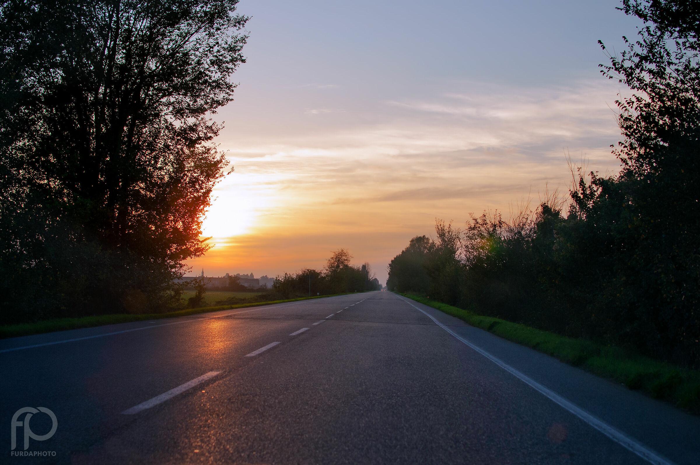 Tornando verso casa......