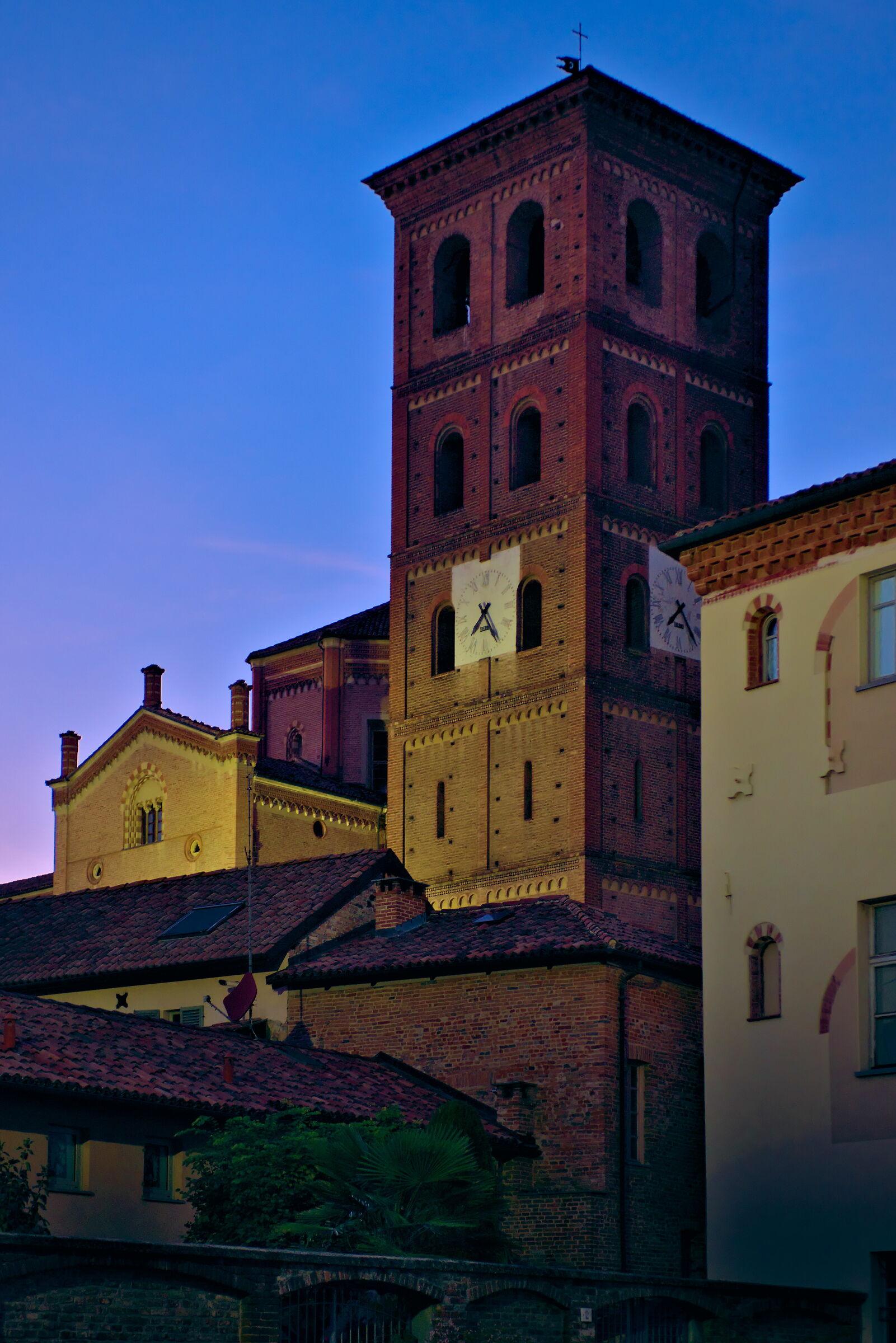 Asti, campanile Cattedrale...