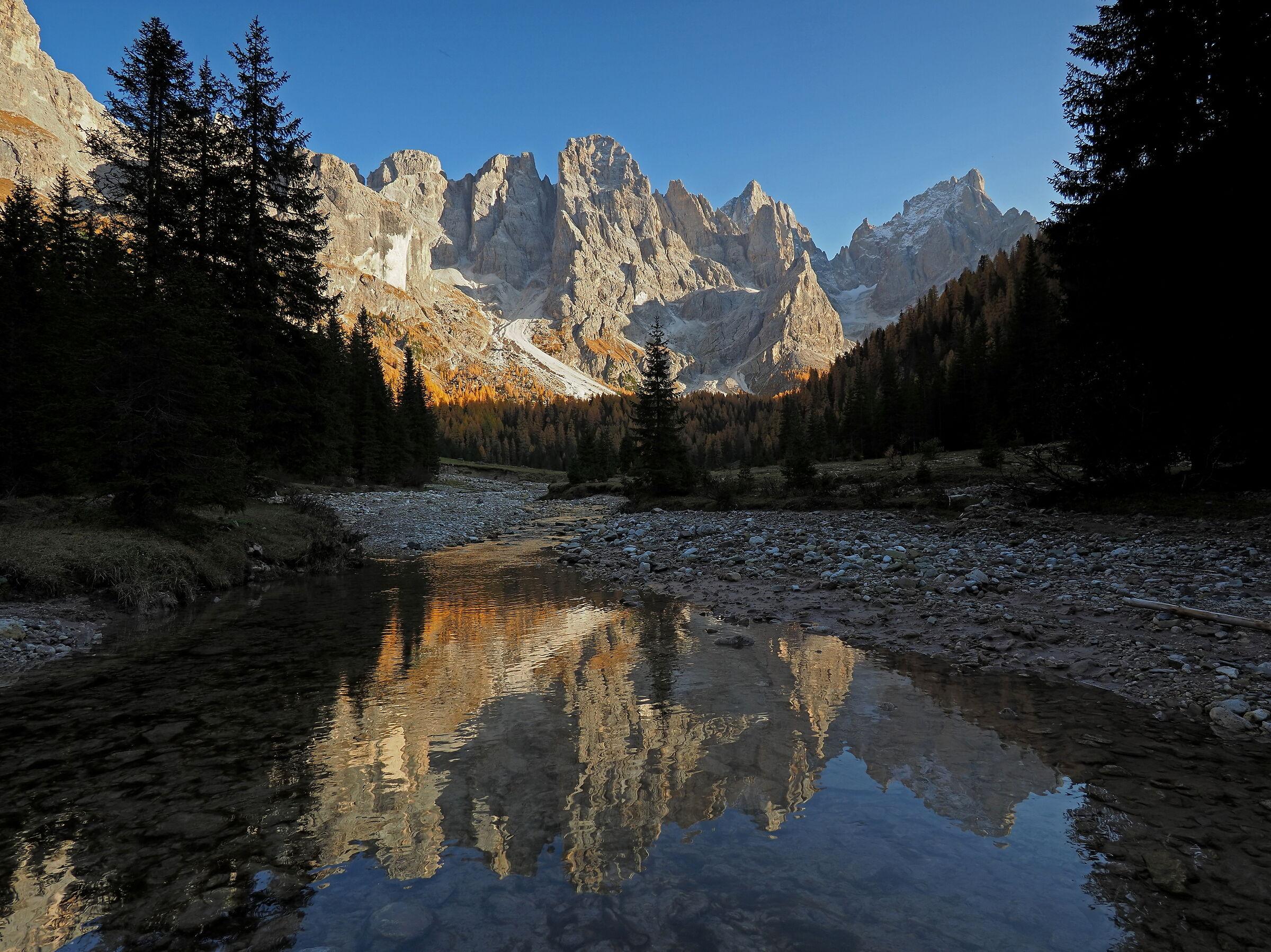 Lovely Val Venegia ...