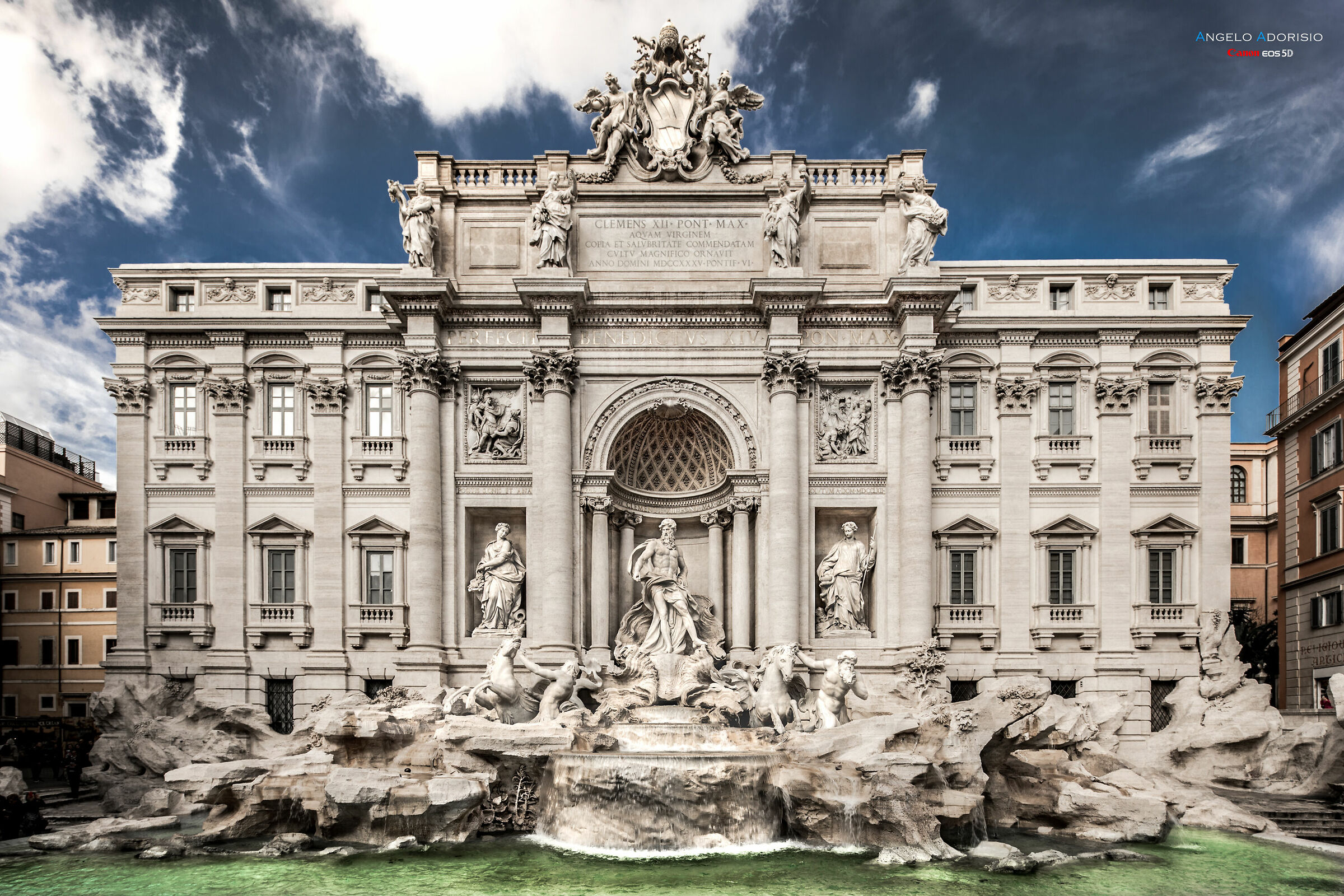 Always and only you ... Trevi Fountain......