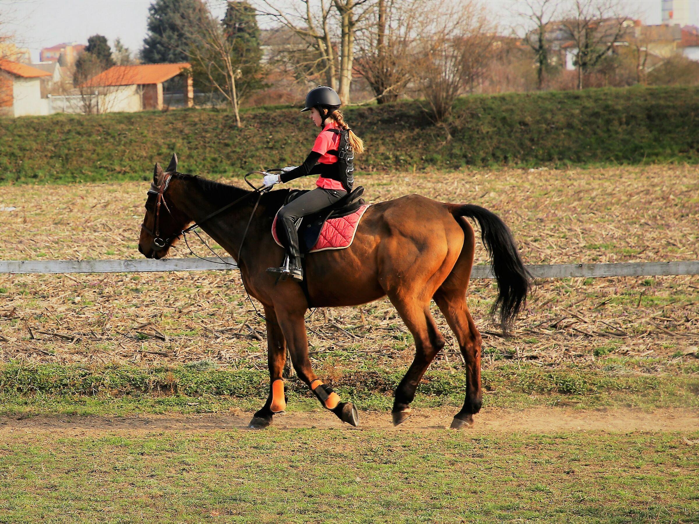 little rider...