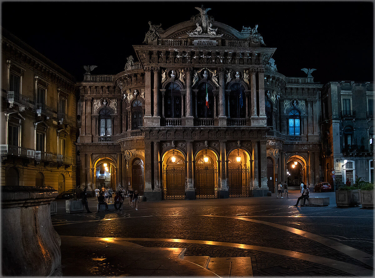 the night in Catania...