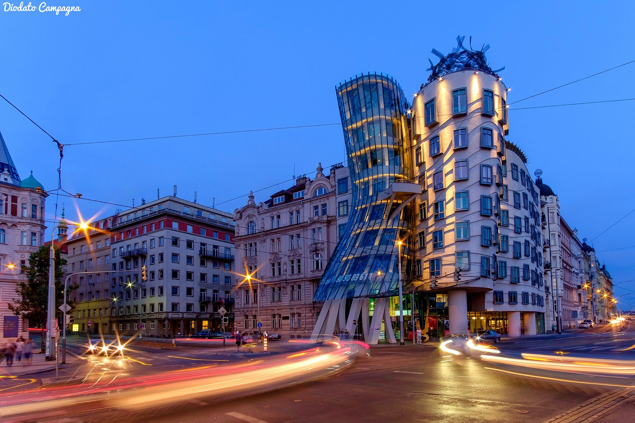 The Dancing House ...