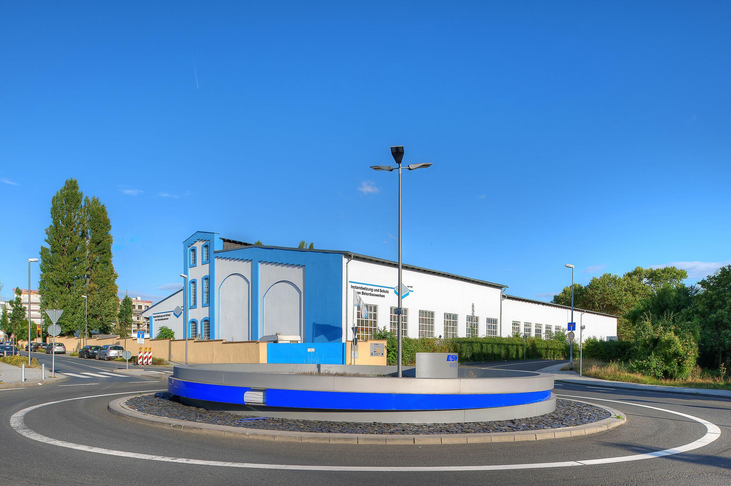 Road Circle; Wiesbaden, Germany...